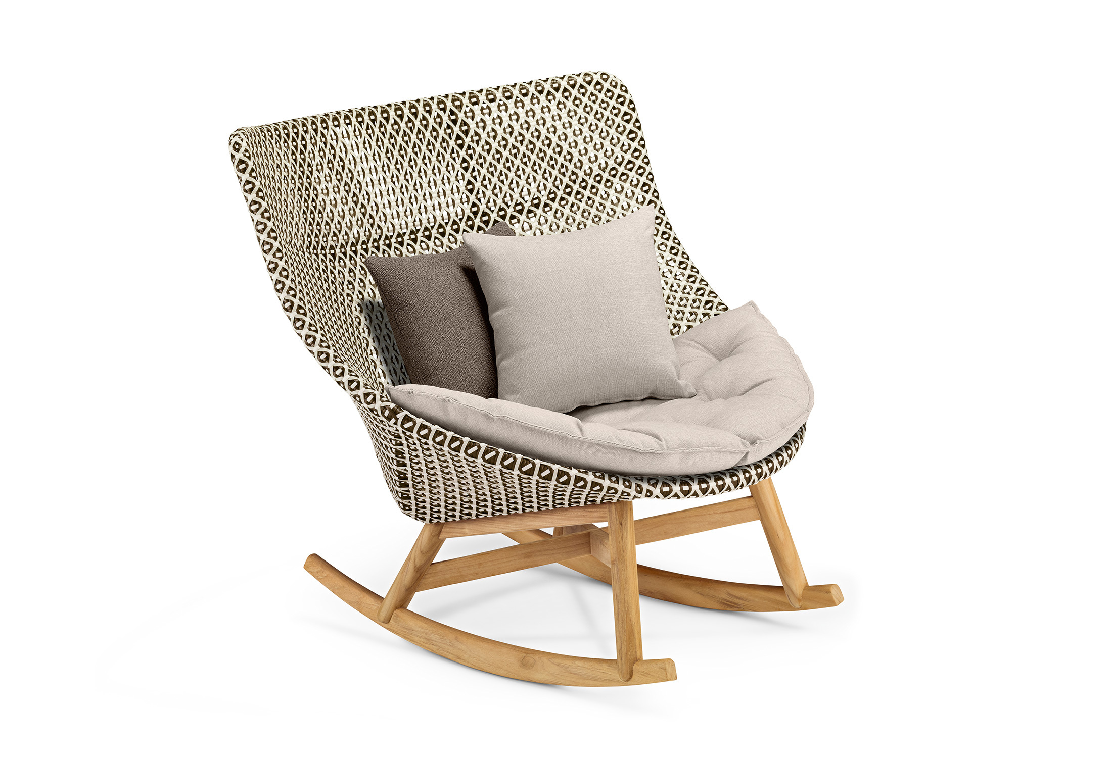Mbrace Rocking Chair By Dedon Stylepark