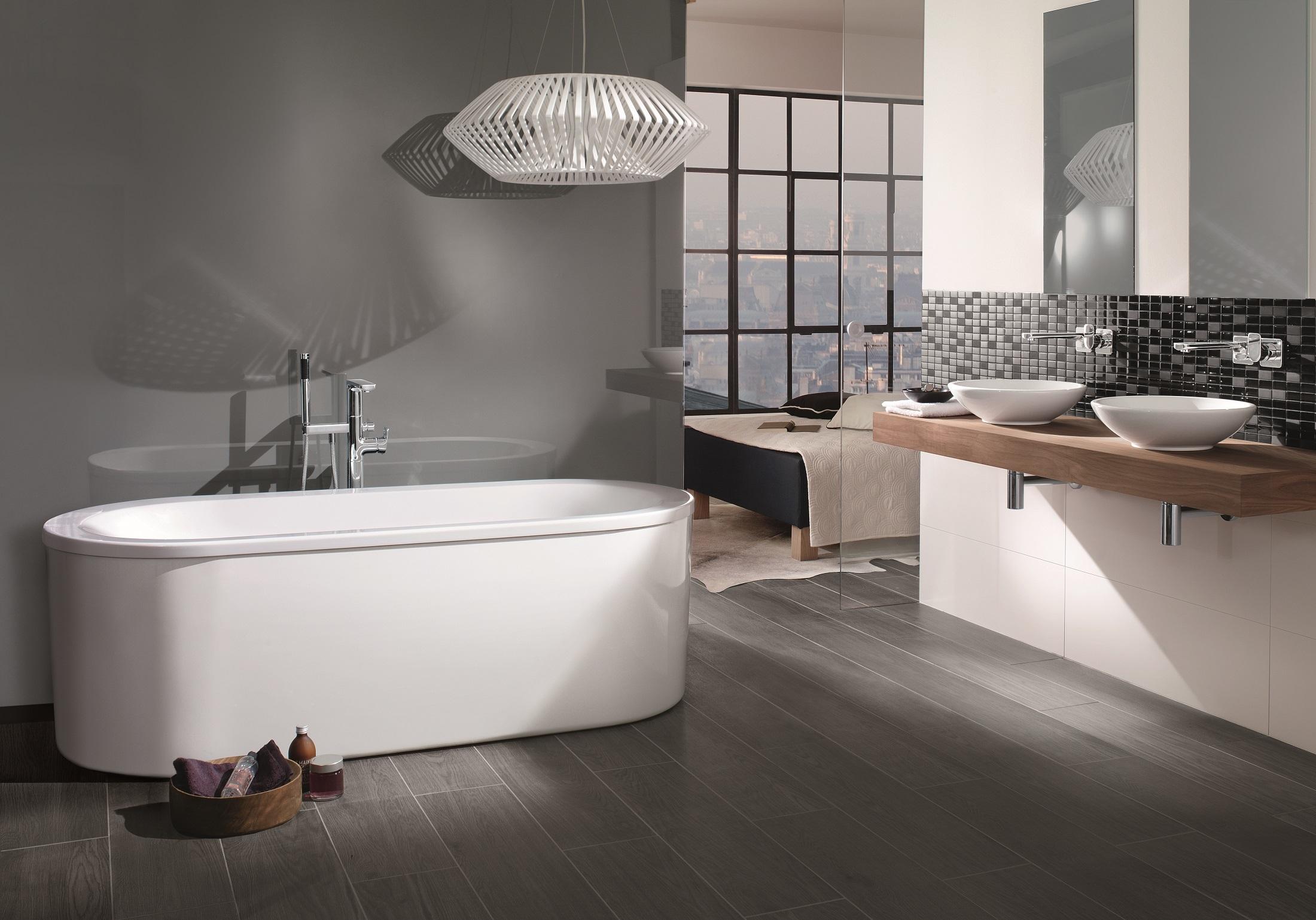 badewanne oval loop friends von villeroy boch bad wellness stylepark. Black Bedroom Furniture Sets. Home Design Ideas