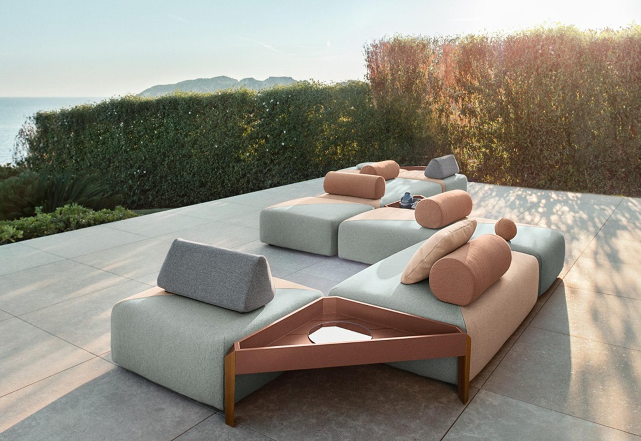 brixx cushion by dedon stylepark. Black Bedroom Furniture Sets. Home Design Ideas