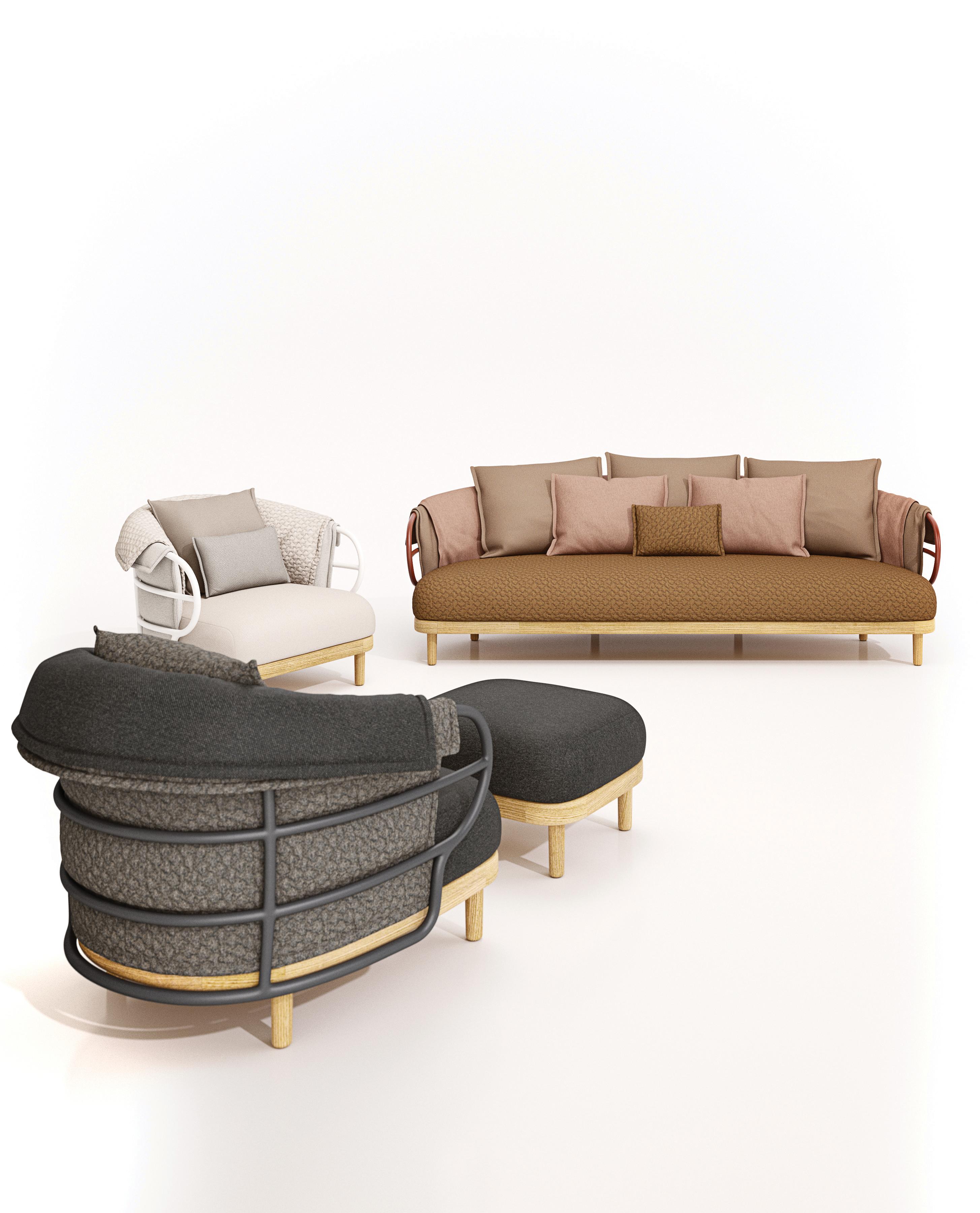 Dune Ottoman von Gloster Furniture | STYLEPARK