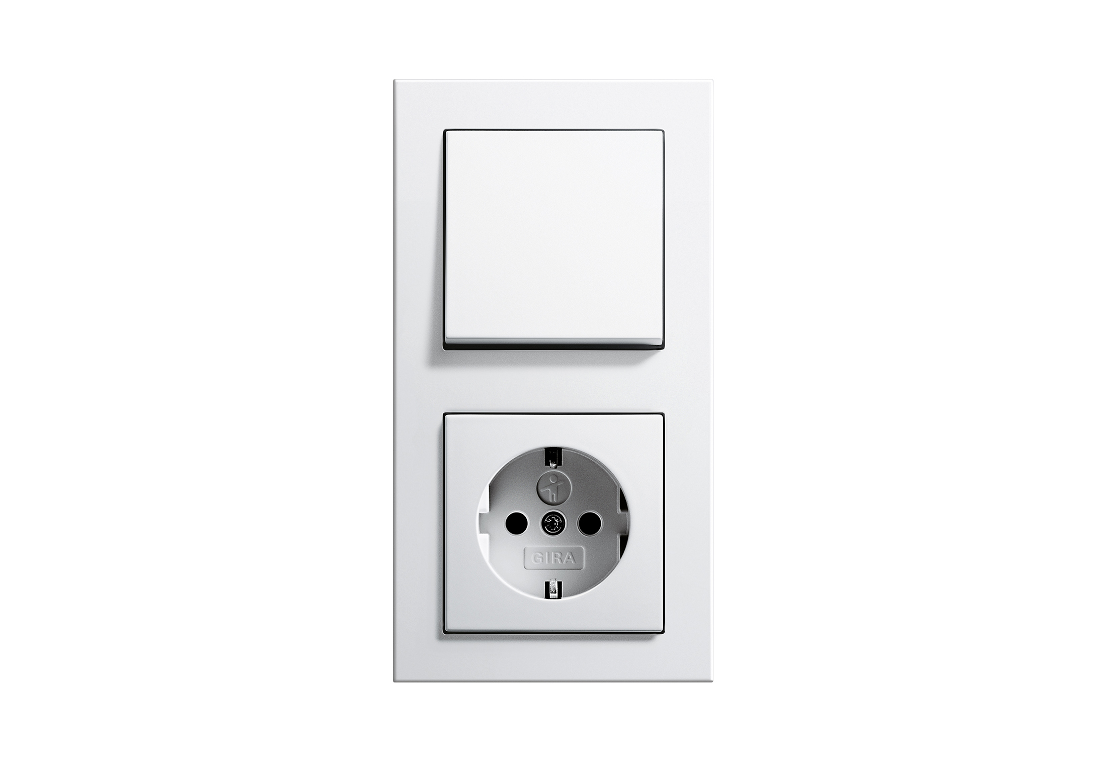 Design features of outlets and switches Gira (Gira) 75