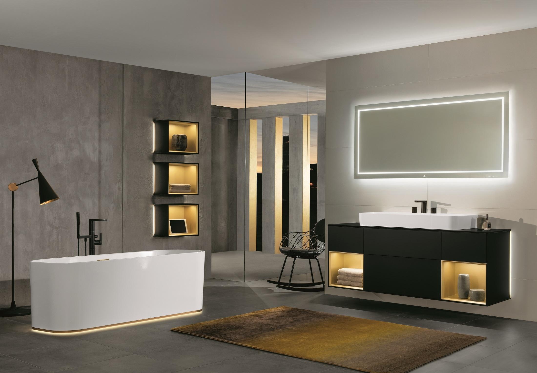 Badewanne finion von villeroy boch bad wellness stylepark for Villeroy and boch bathroom accessories