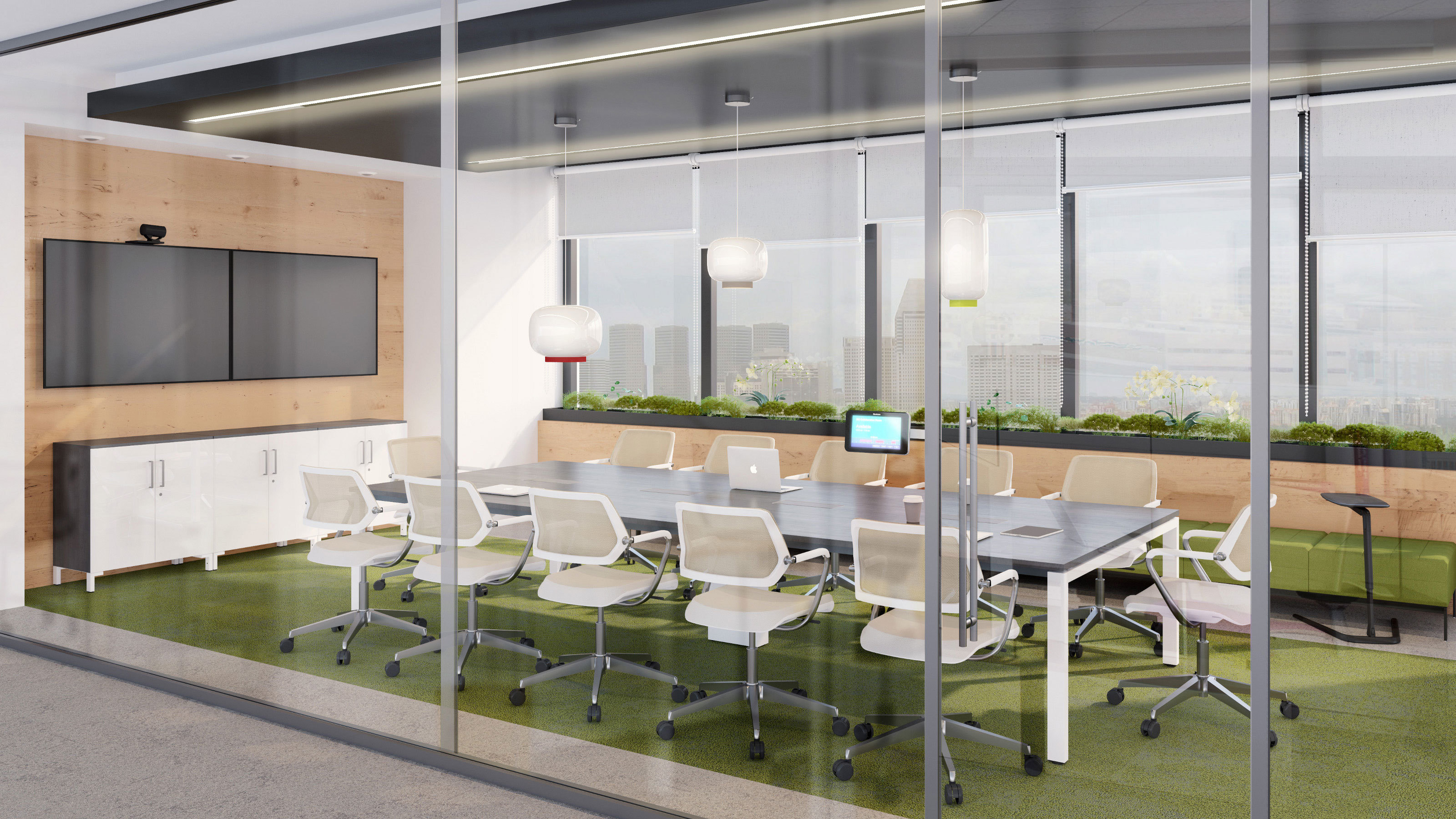 Framefour Meeting Table By Steelcase Stylepark