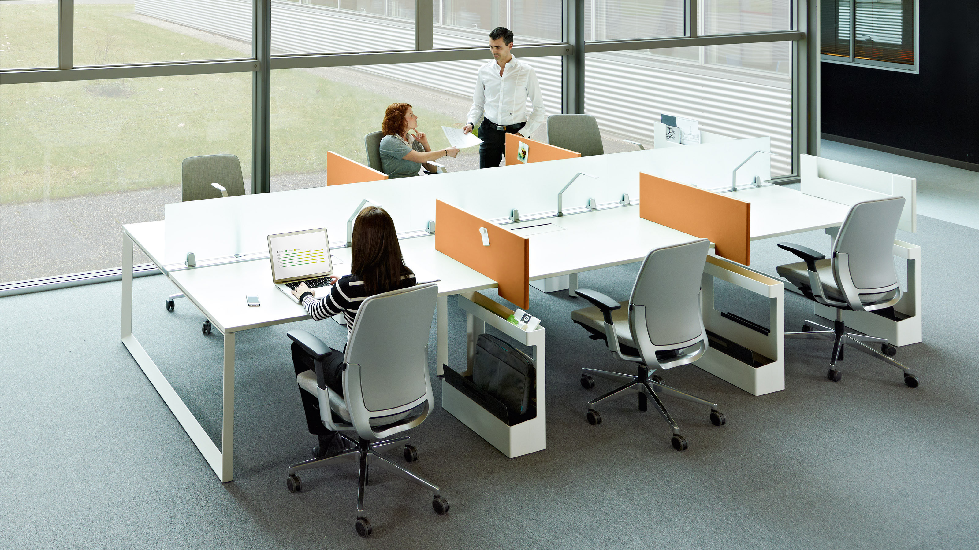 Frameone Bench By Steelcase Stylepark