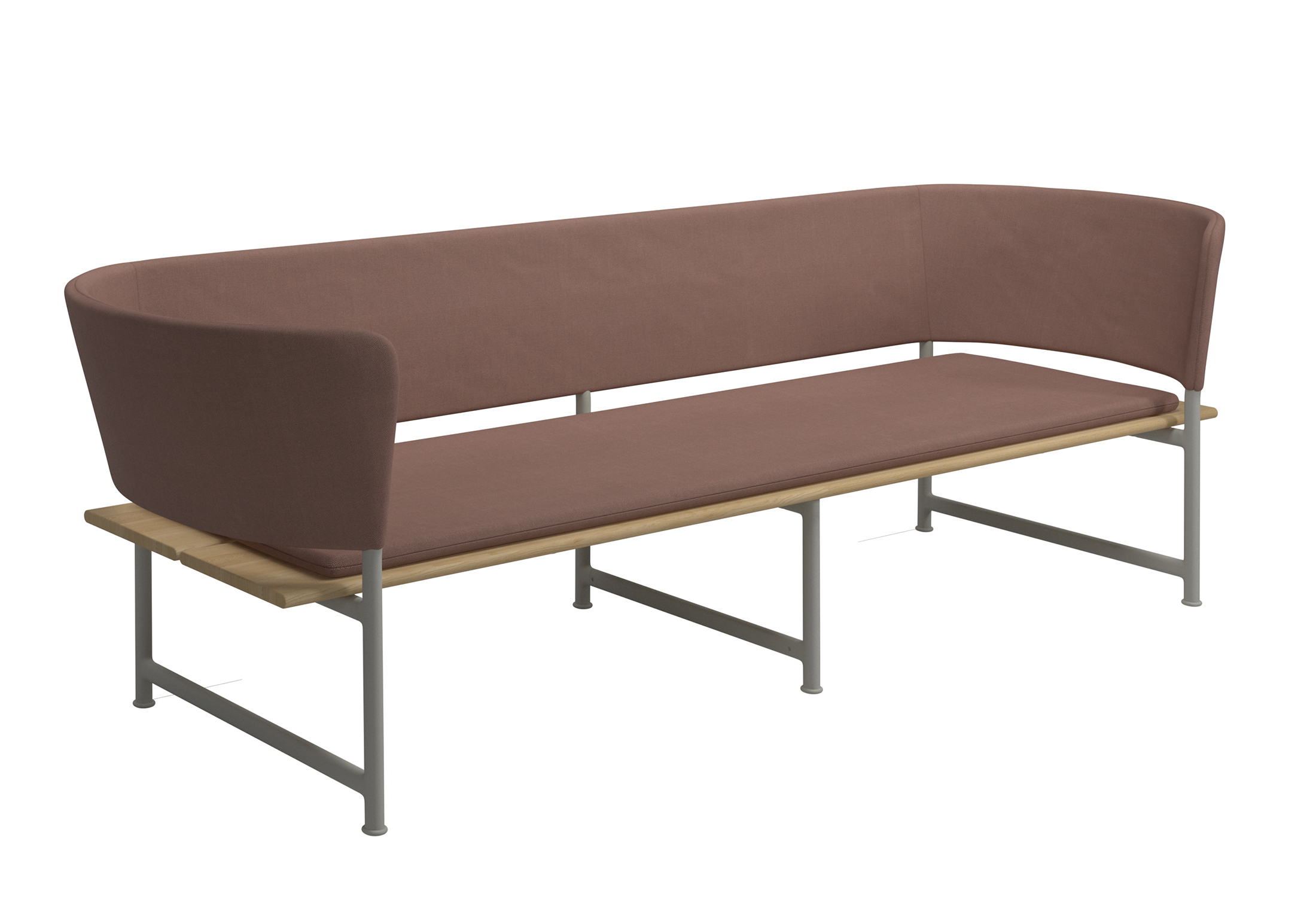 atmosphere three seater sofa by gloster furniture stylepark