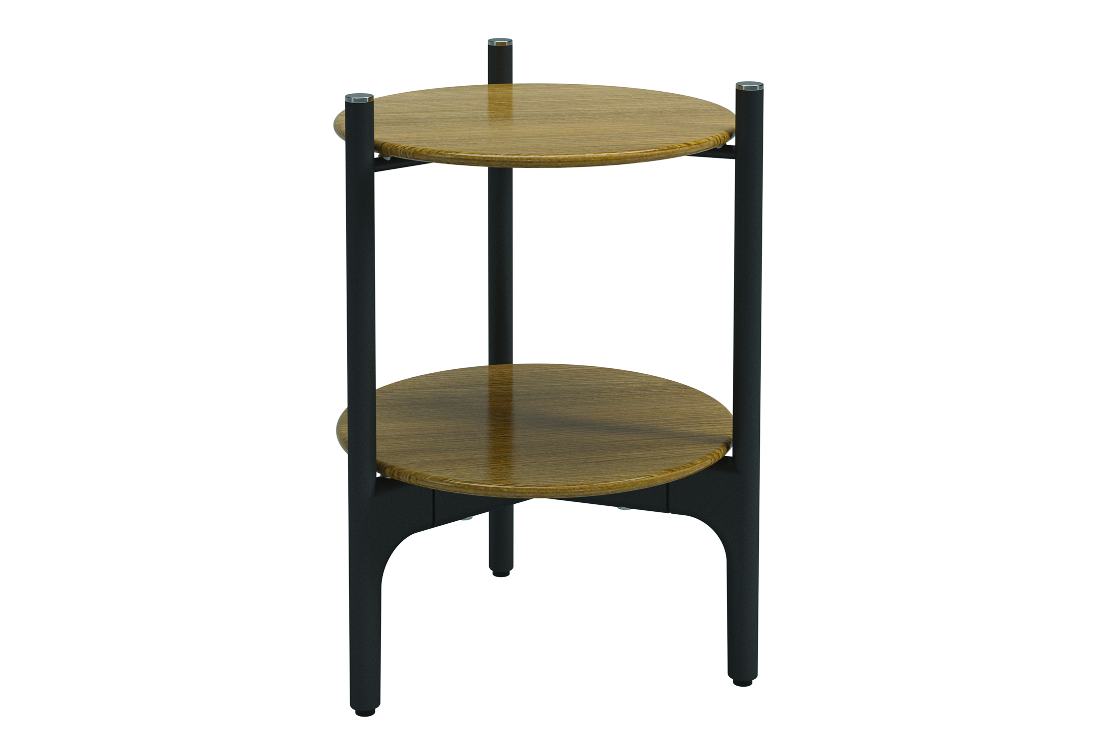 Grand weave round side table by gloster furniture stylepark for Grande table