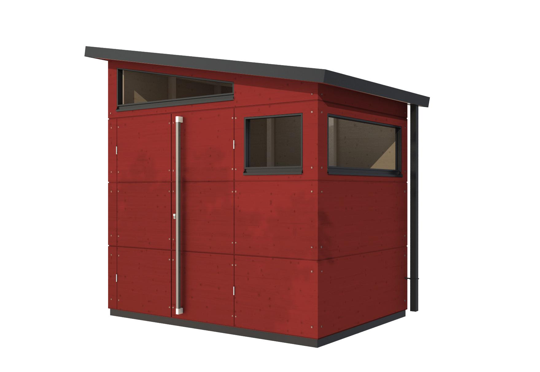 gartenhaus pultdach s von gartana | stylepark