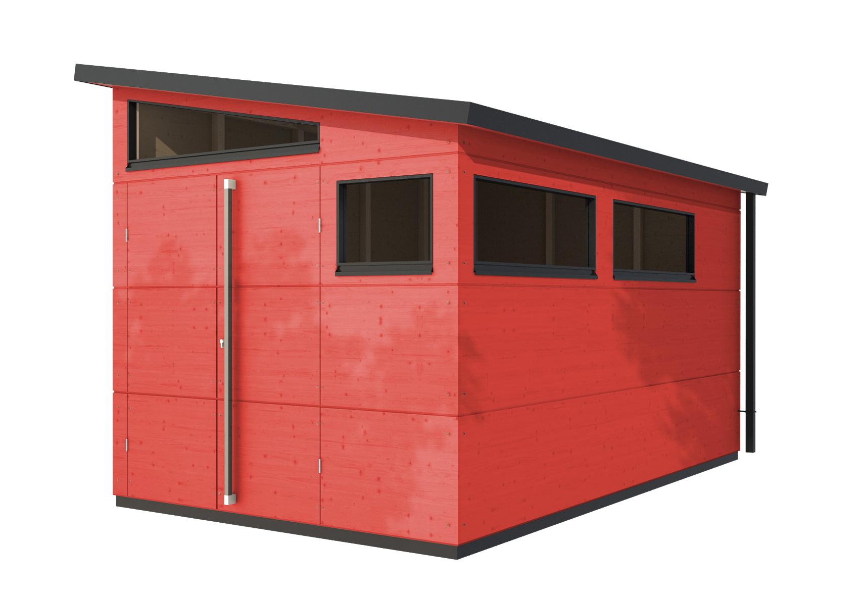gartenhaus pultdach xl von gartana | stylepark