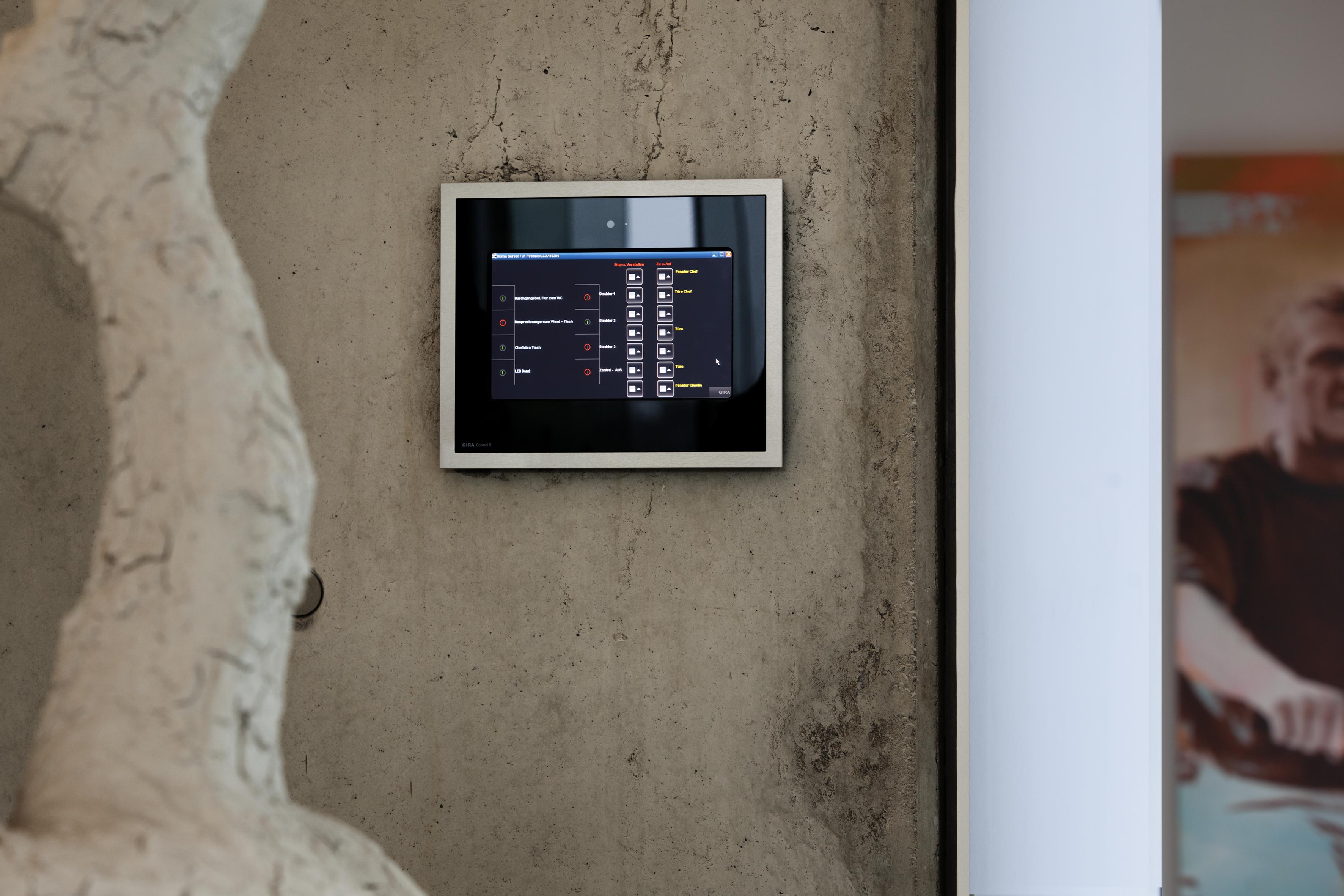 der neue x1 server von gira macht das smart home einfac stylepark. Black Bedroom Furniture Sets. Home Design Ideas