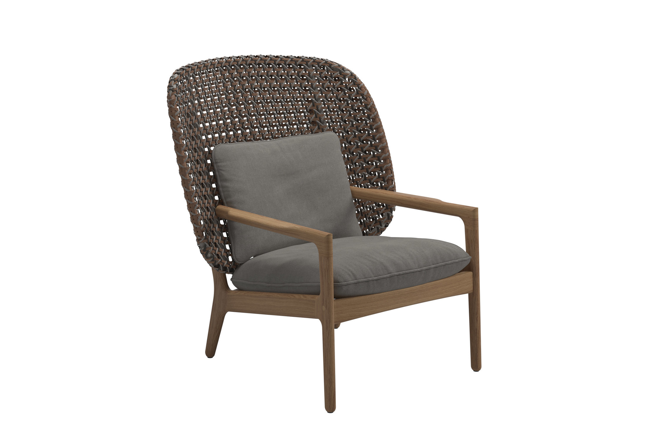 Kay High Back Lounge Chair By Gloster Furniture Stylepark