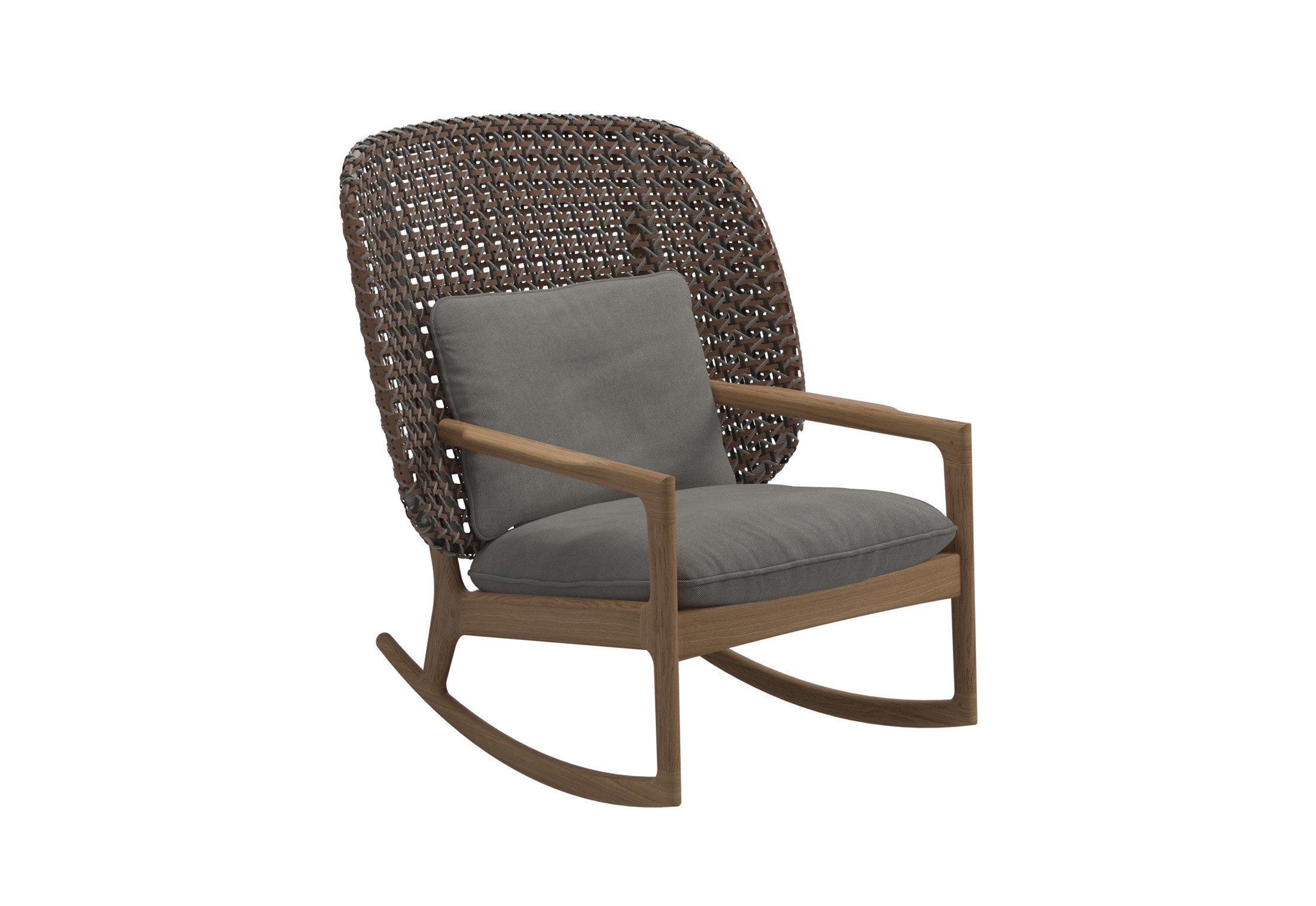 Kay High Rocking Chair By Gloster Furniture Stylepark