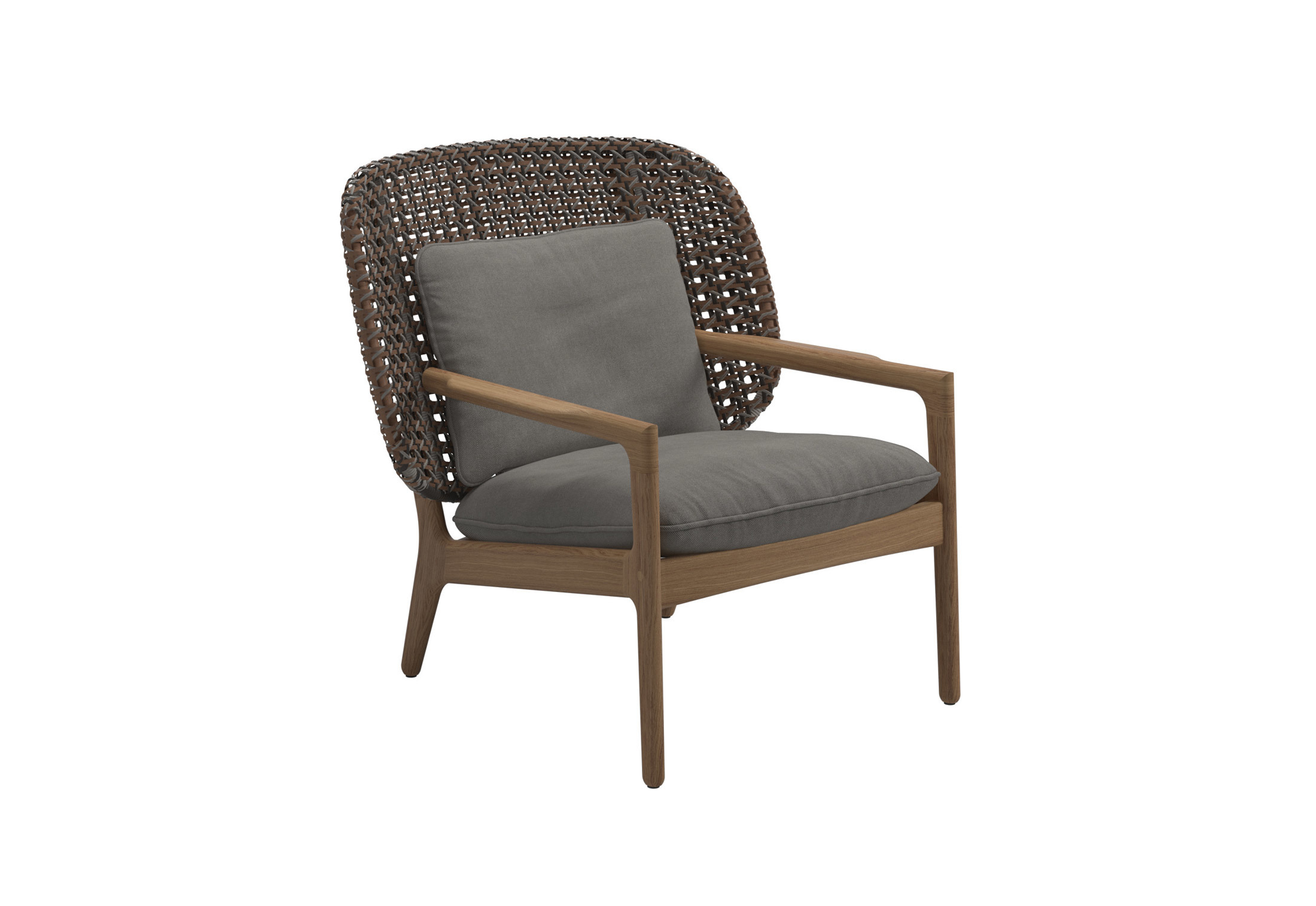 Kay Low Back Lounge Chair By Gloster Furniture Stylepark