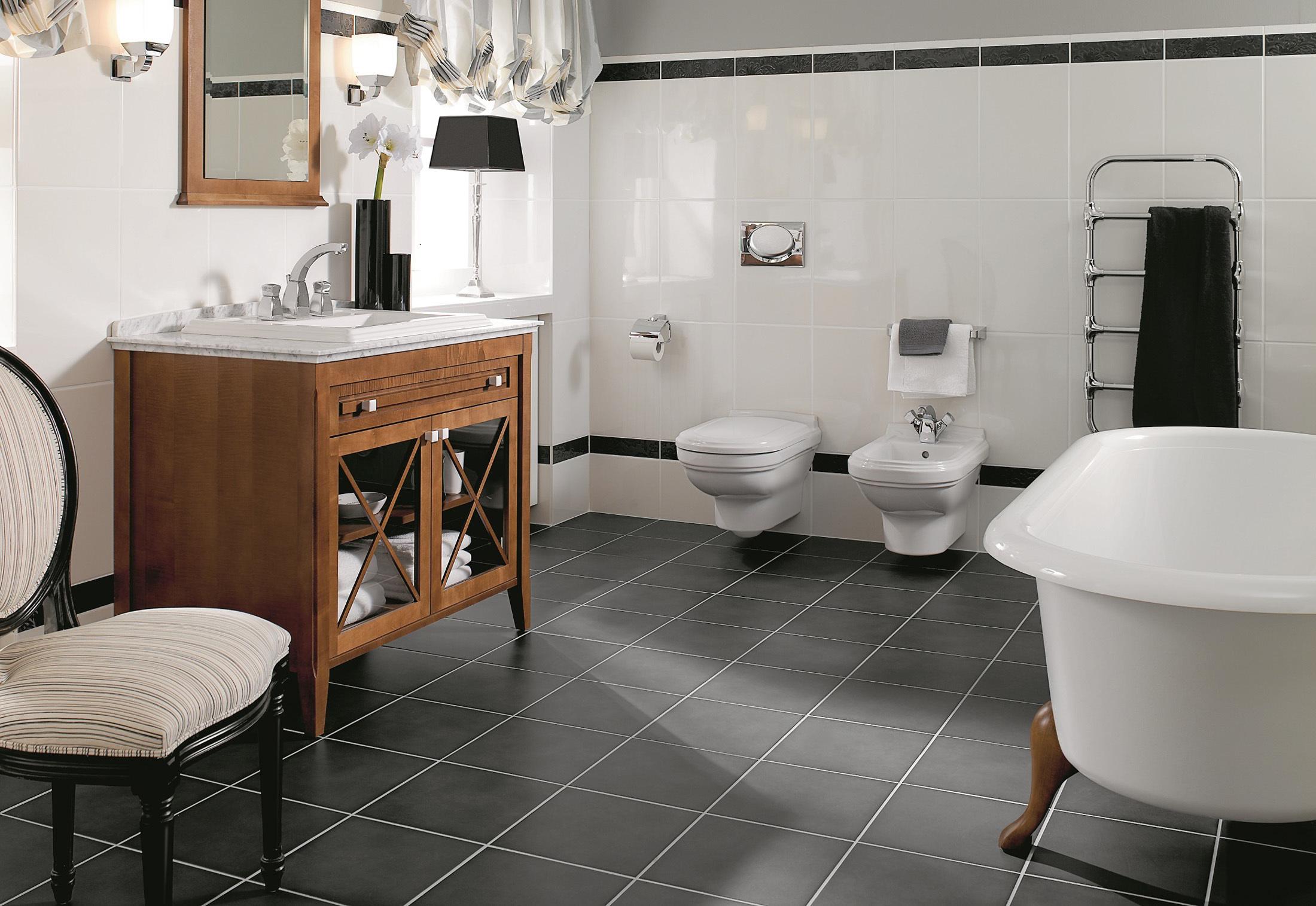Интерьер туалета: 20 фото примеров