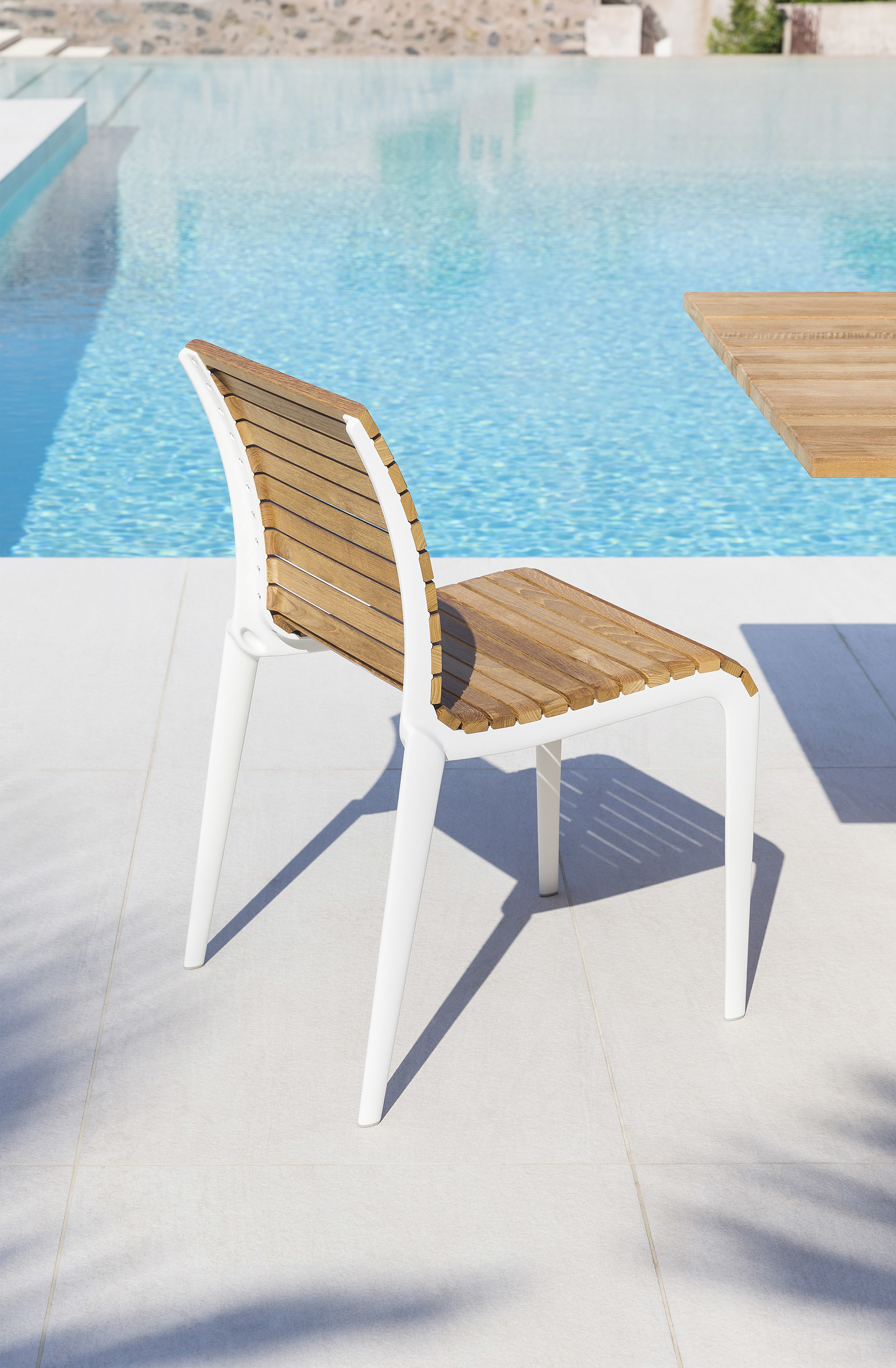 Teak Chair 475 By Alias Stylepark