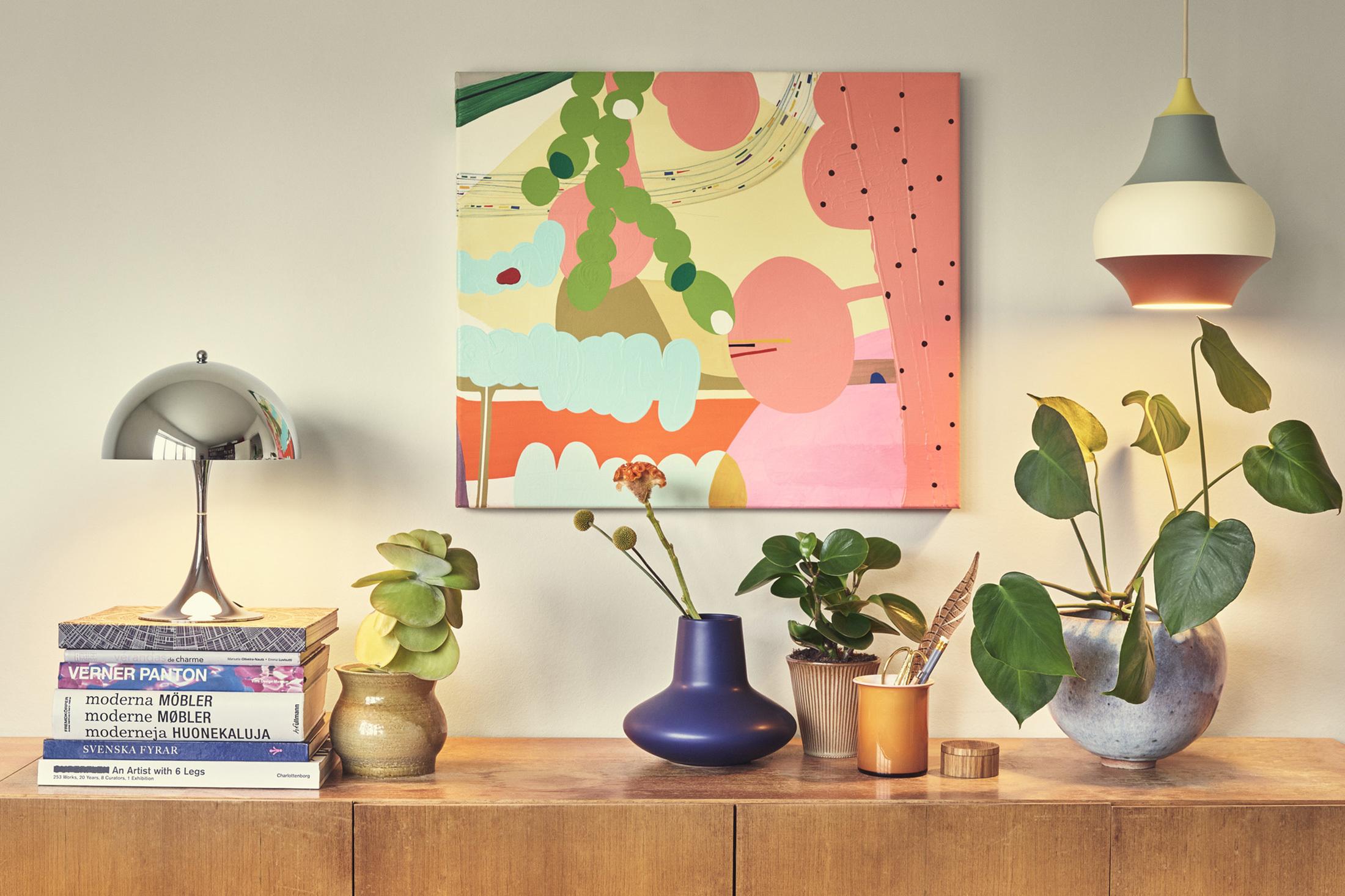 Panthella mini table lamp by louis poulsen stylepark