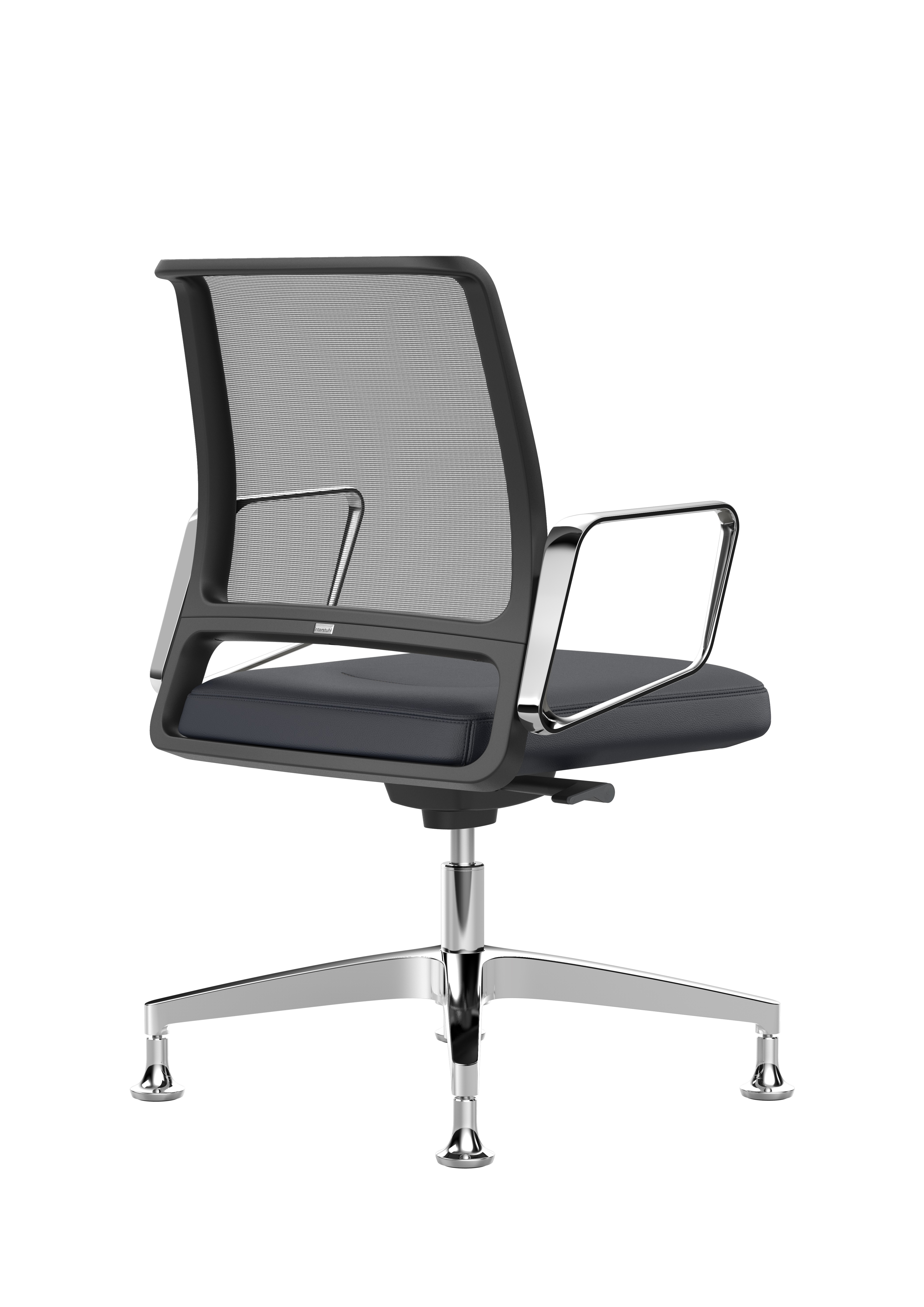 Vintageis5 Conference Armchair With Low Backrest By
