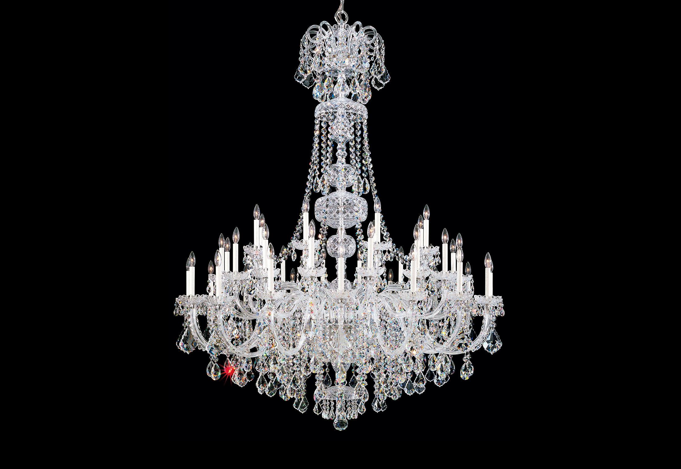 Olde World Chandelier By Swarovski Lighting Stylepark
