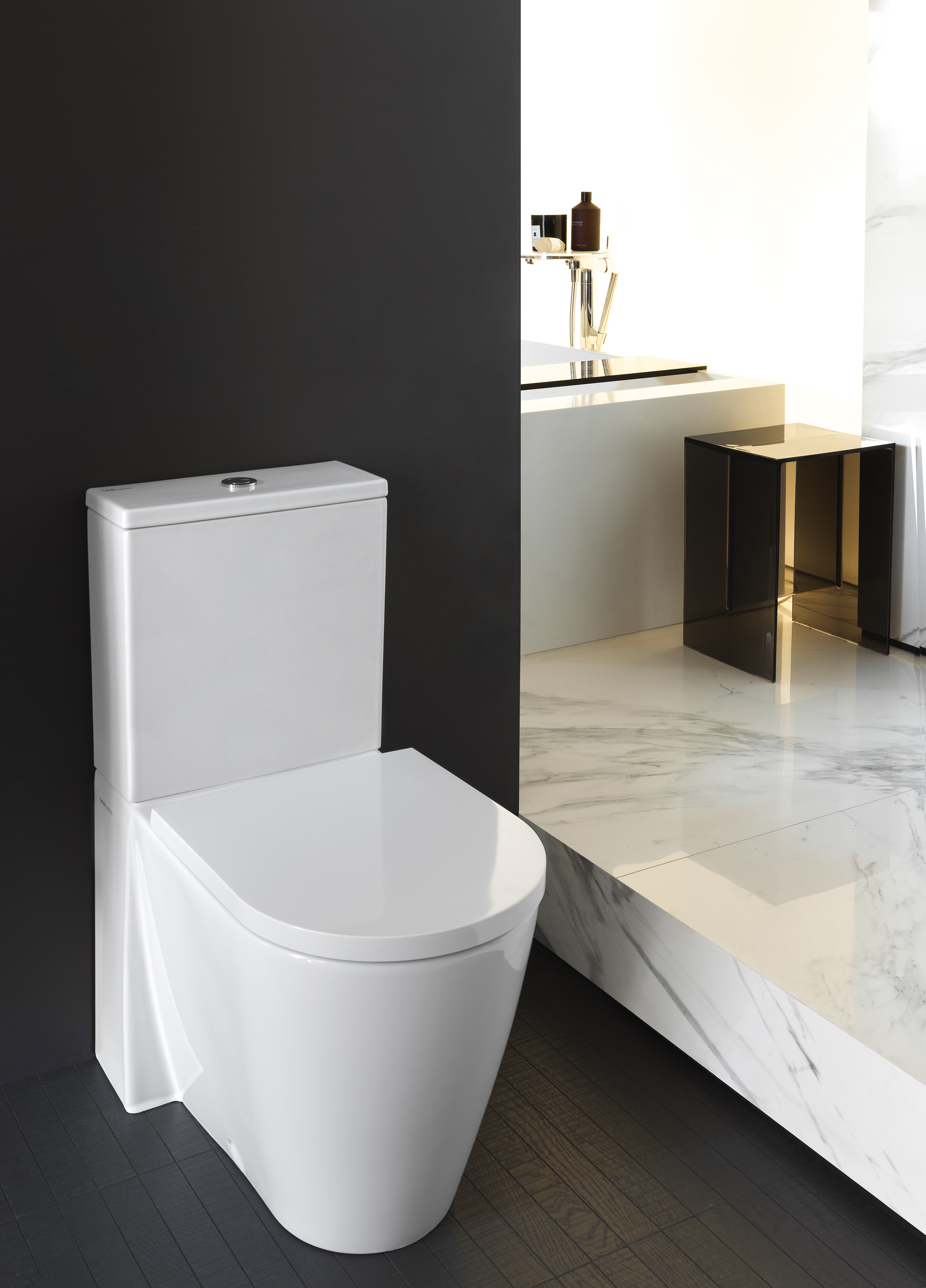Kartell By Laufen Floor Standing Wc Combination Rimless By
