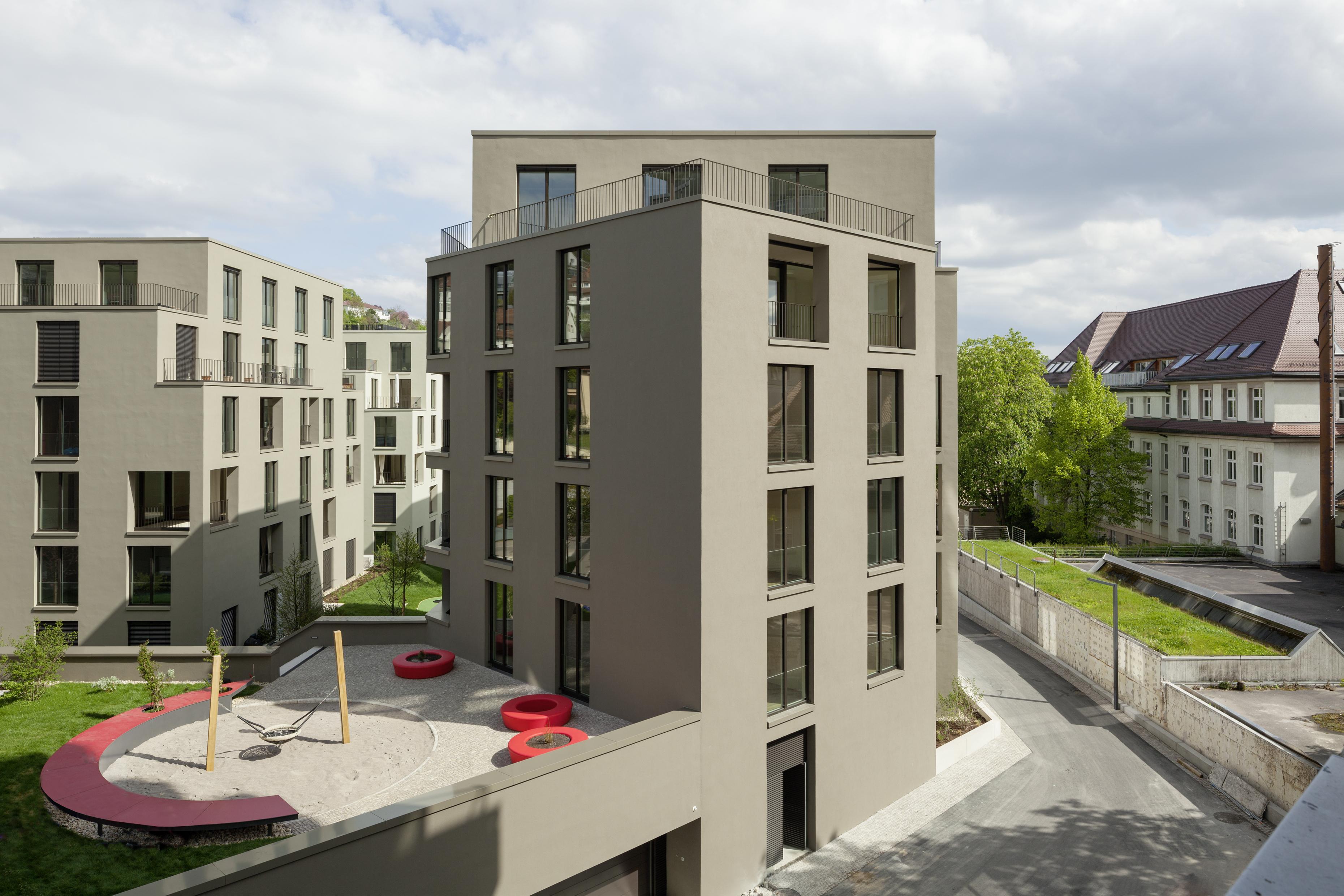 Wohnbau von Kuehn Malvezzi in Stuttgart, Berlin und Baden-Baden ...
