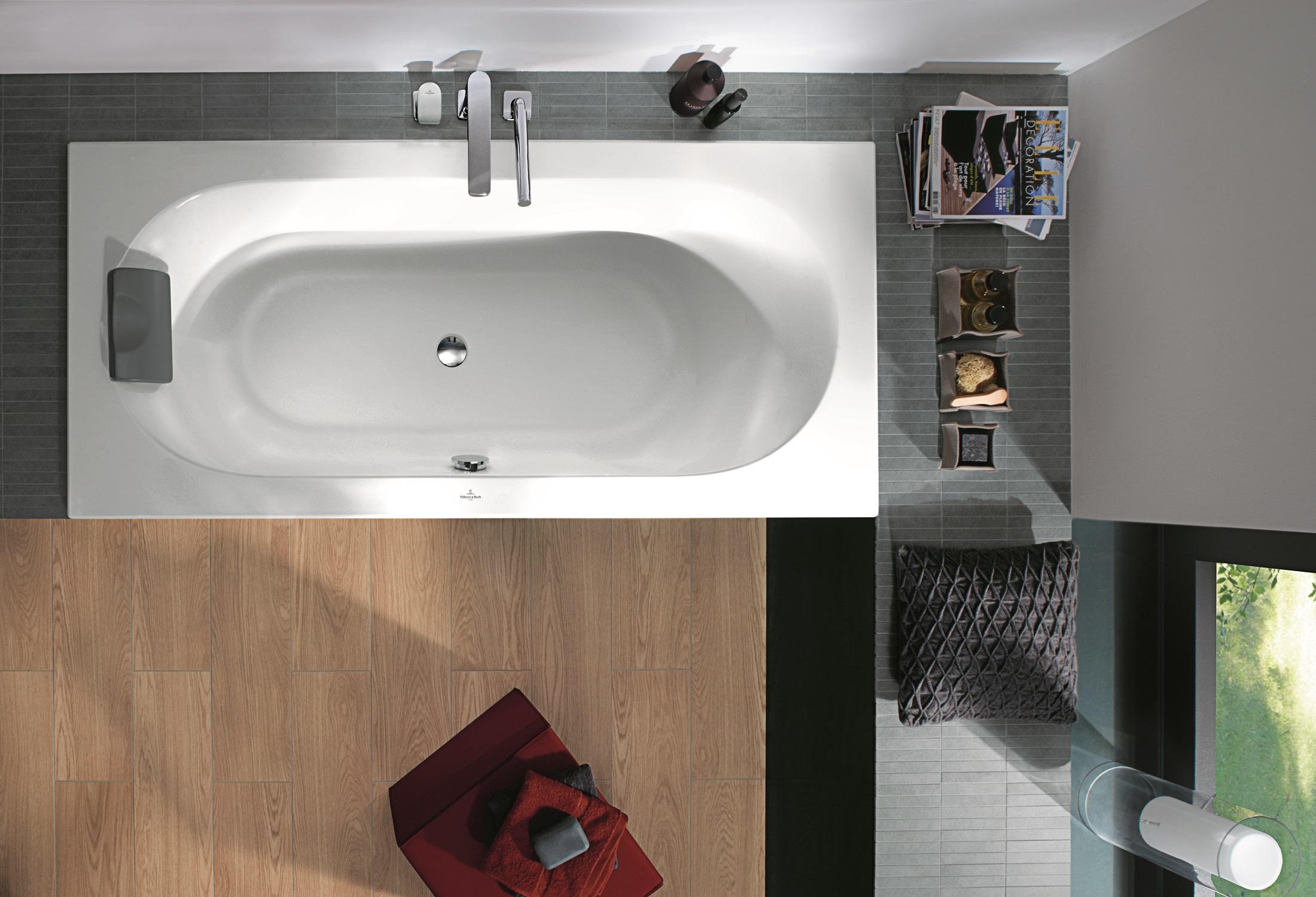 badewanne rechteckig loop friends von villeroy boch. Black Bedroom Furniture Sets. Home Design Ideas