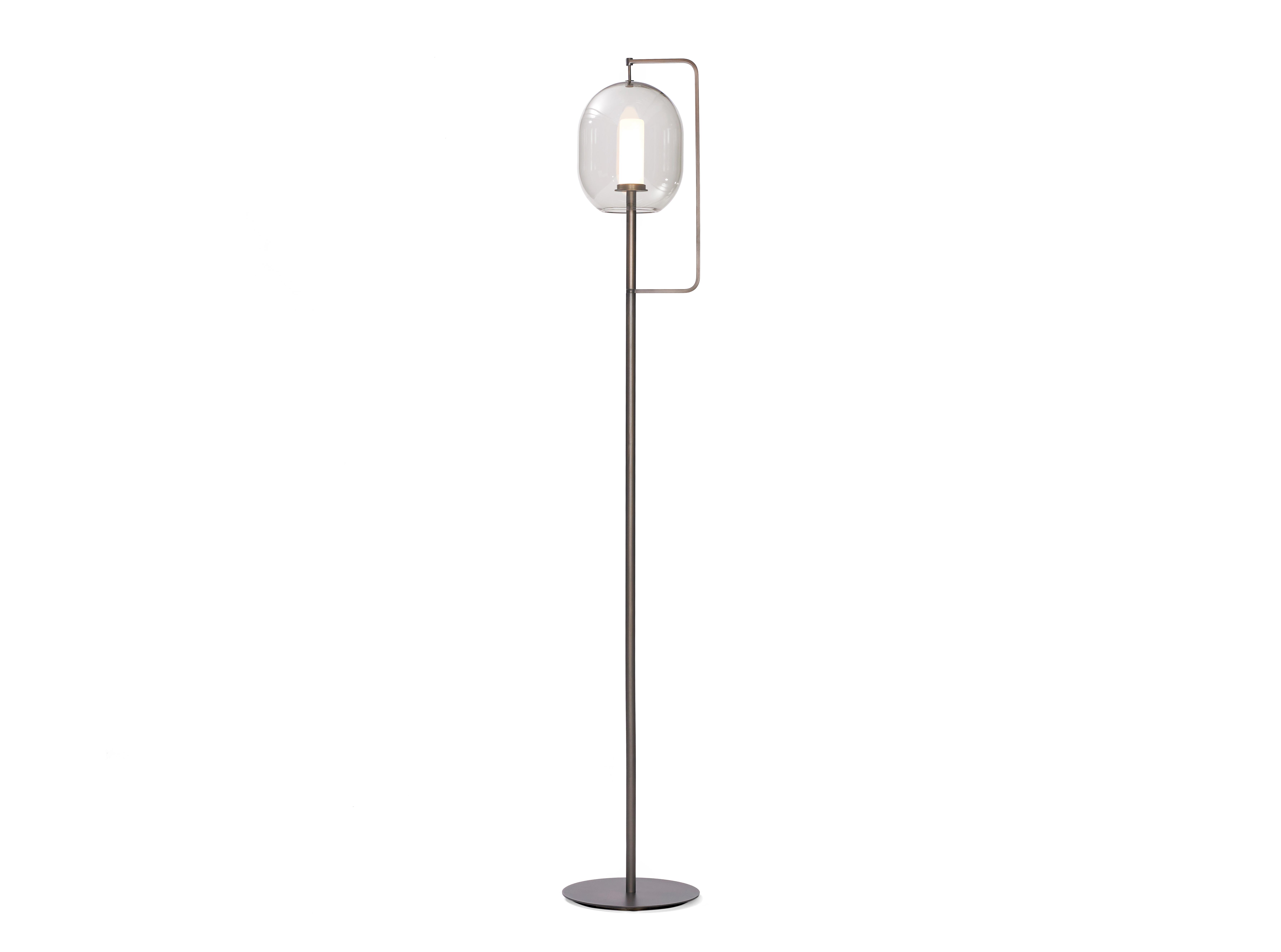 Lantern light floor lamp by classicon stylepark lantern light floor lamp aloadofball Image collections