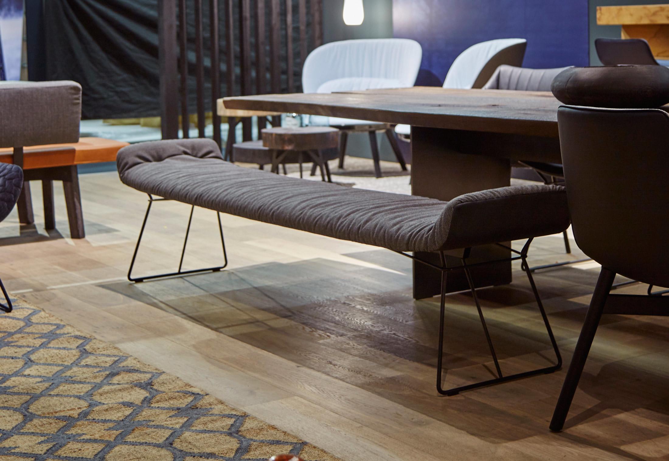 Leya Bench Without Backrest By Freifrau Stylepark