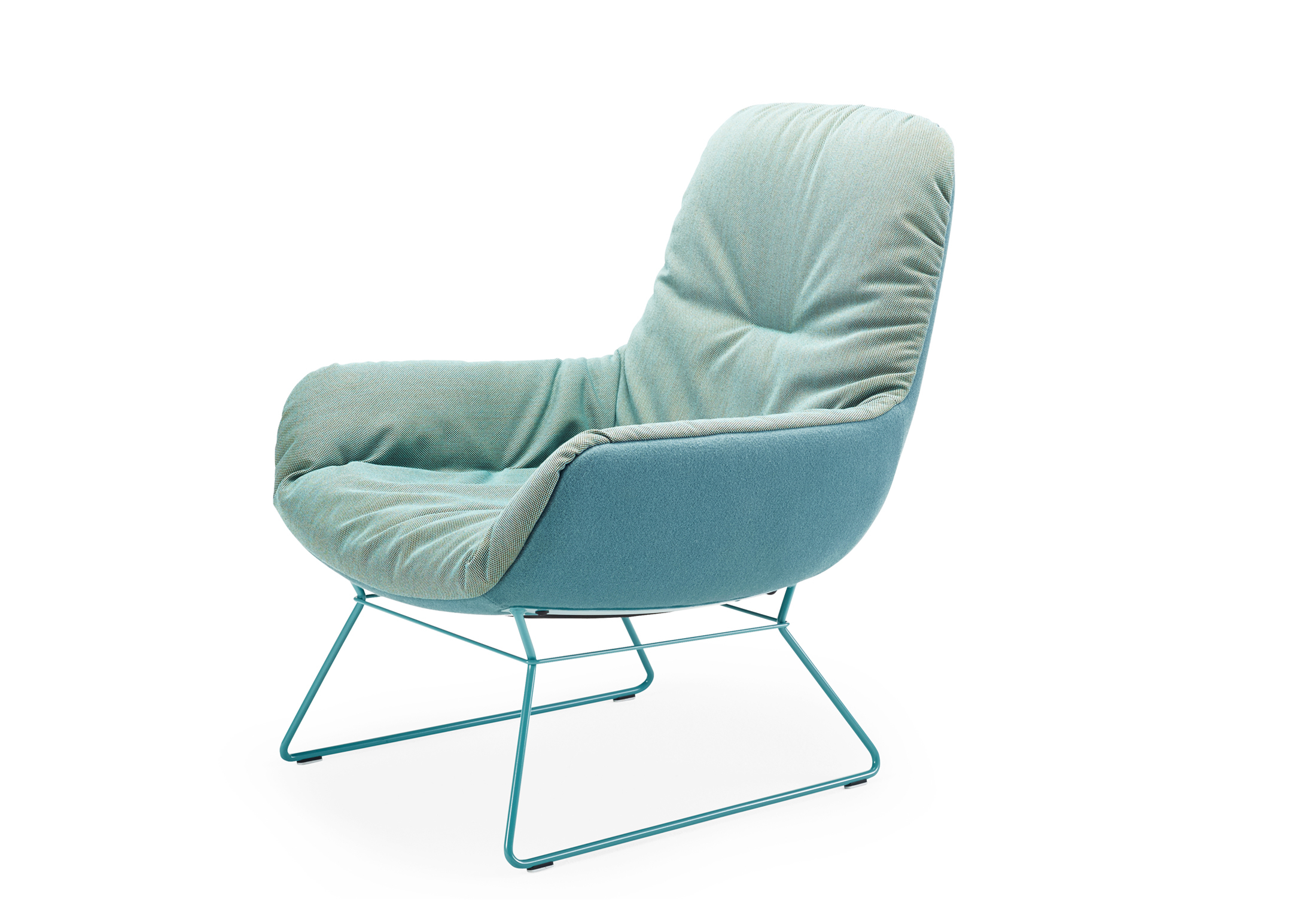 ... Leya Lounge Chair With Wire Frame ...