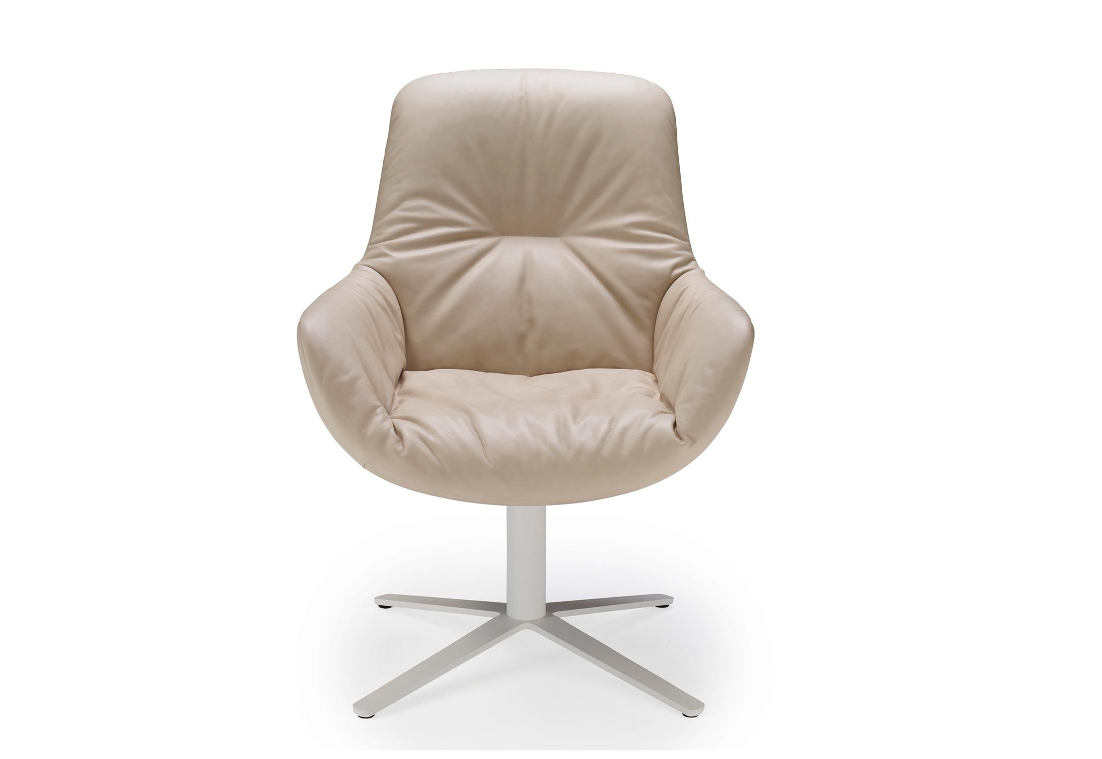 Leya Lounge Chair Mit Fußkreuzgestell Von Freifrau Stylepark