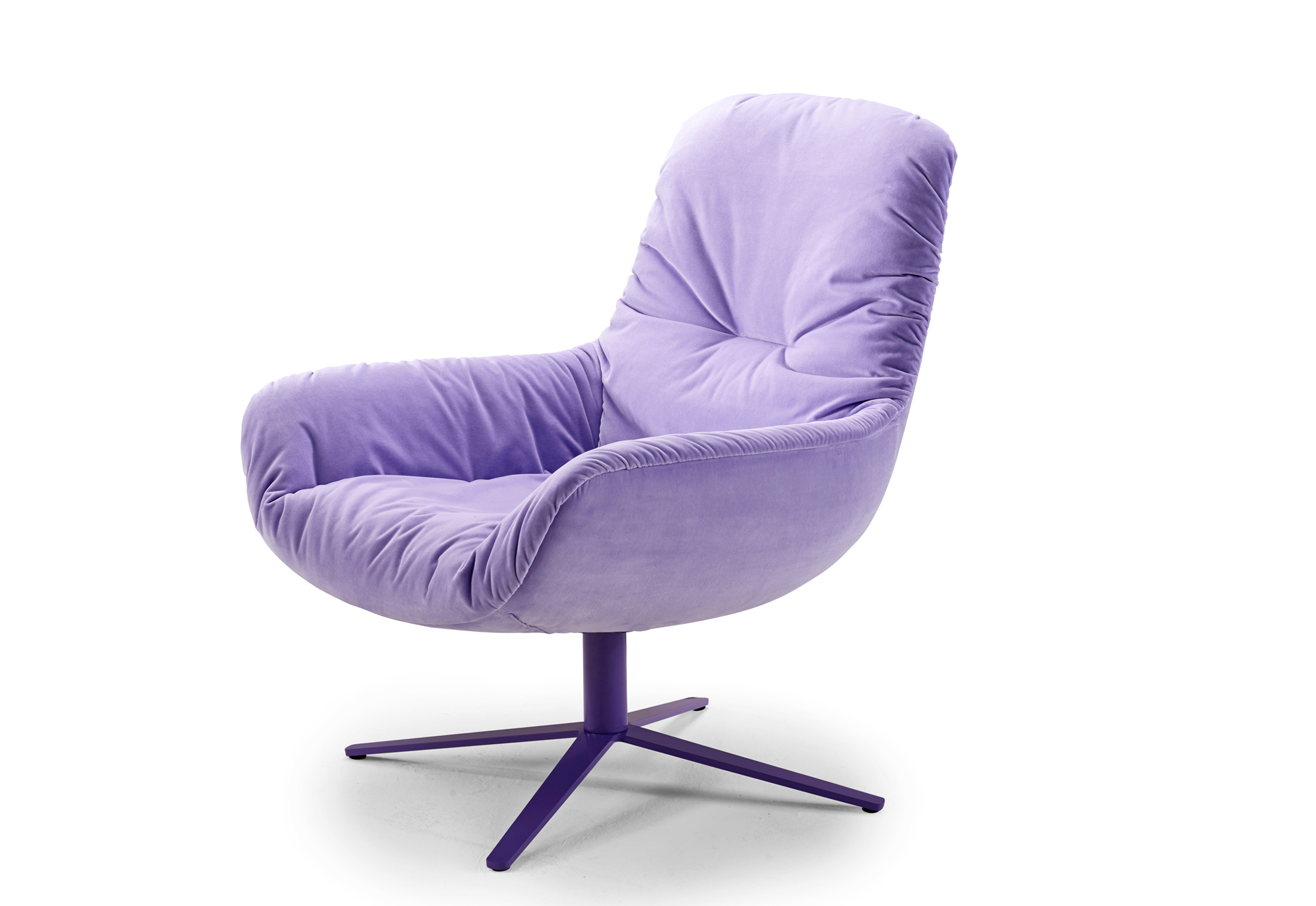 Leya Lounge Chair With X Base Frame By Freifrau Stylepark