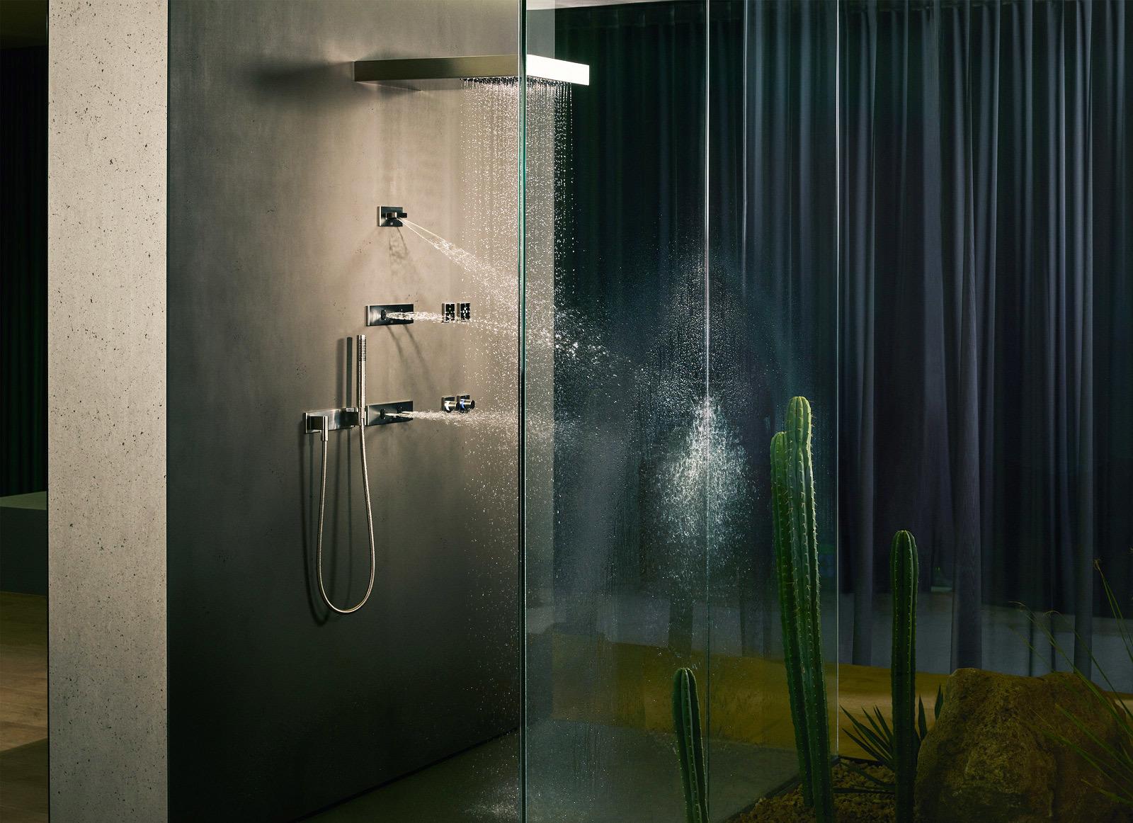 Water Fan Concealed Body Spray By Dornbracht Stylepark