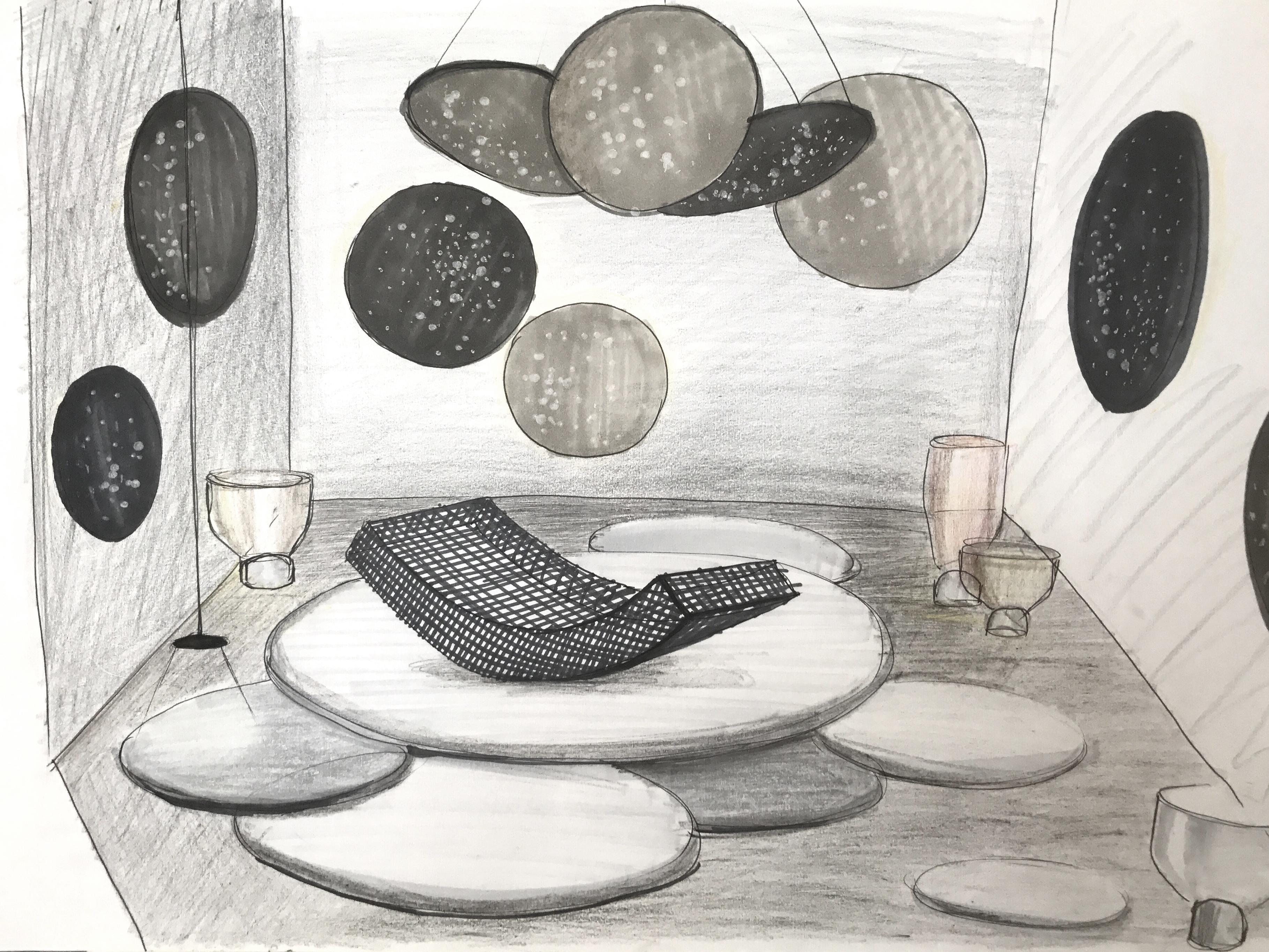 lucie koldova entwirft das haus auf imm cologne 2018 stylepark. Black Bedroom Furniture Sets. Home Design Ideas