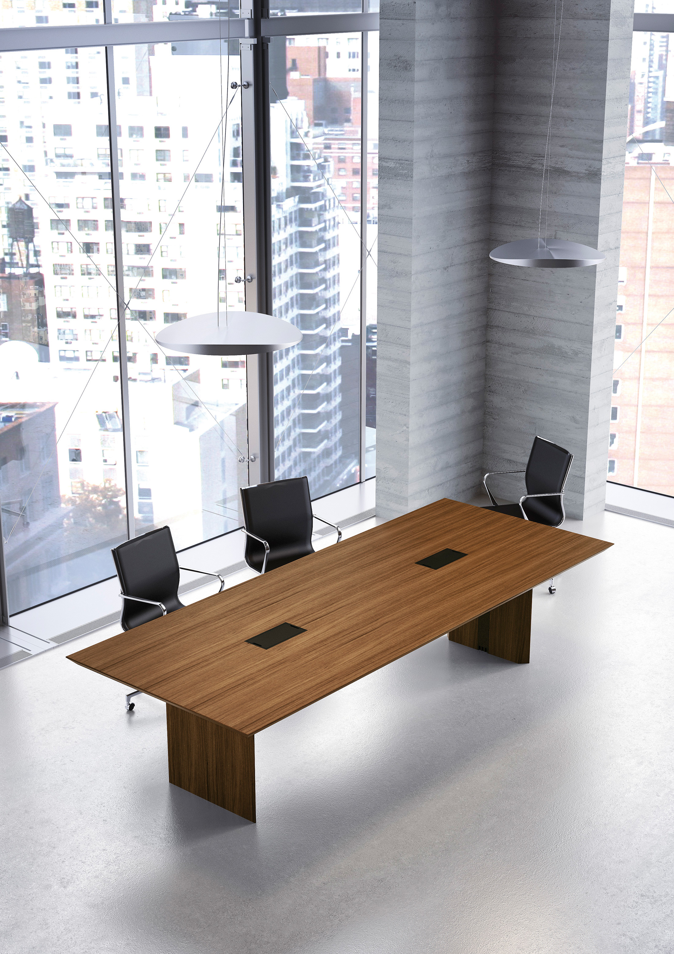 Multipliceo Modular Conference Table By Fantoni STYLEPARK - Modular meeting table