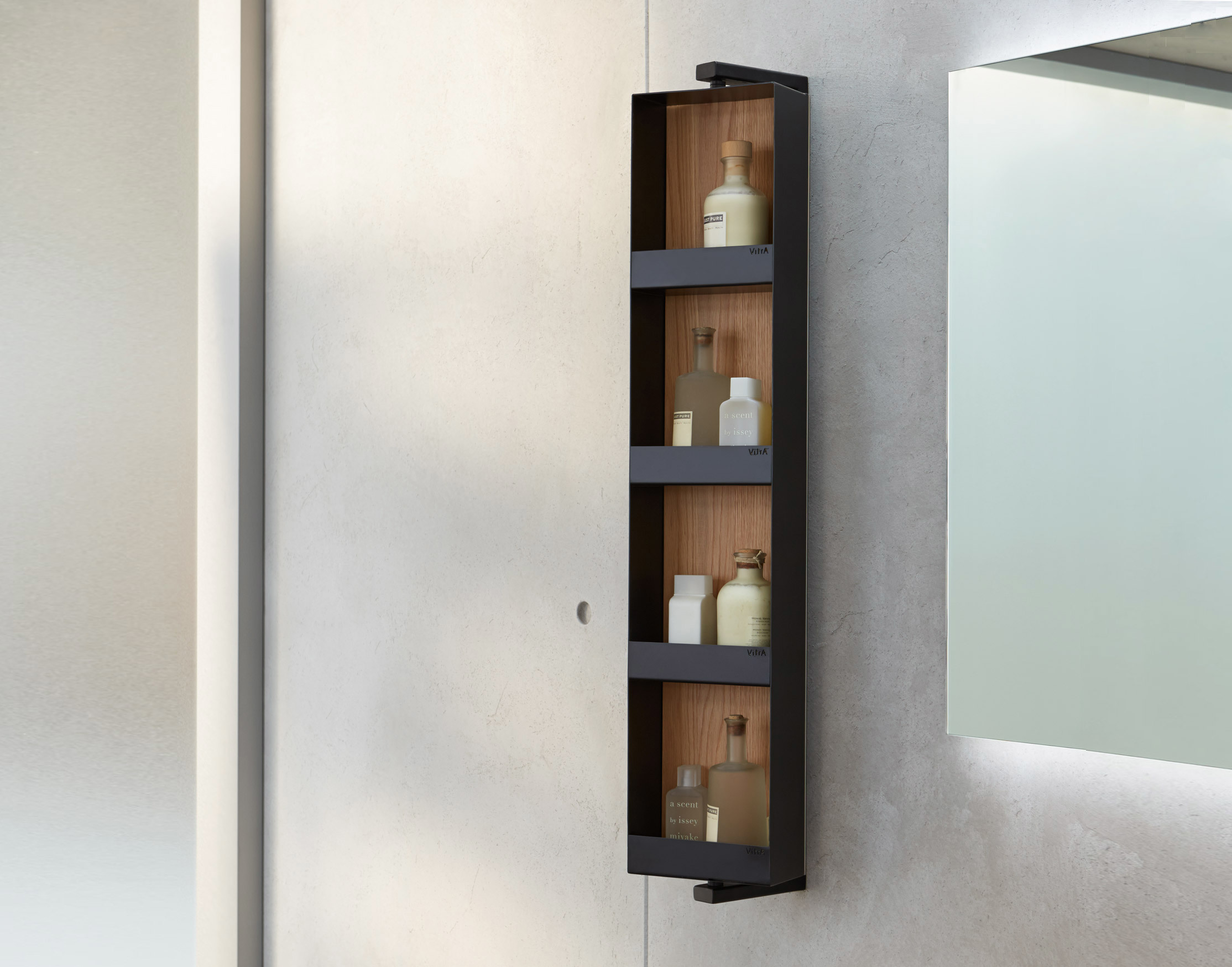 frame mirror with aluminum decor electric pdx wade reviews pillows shelf logan wayfair wall