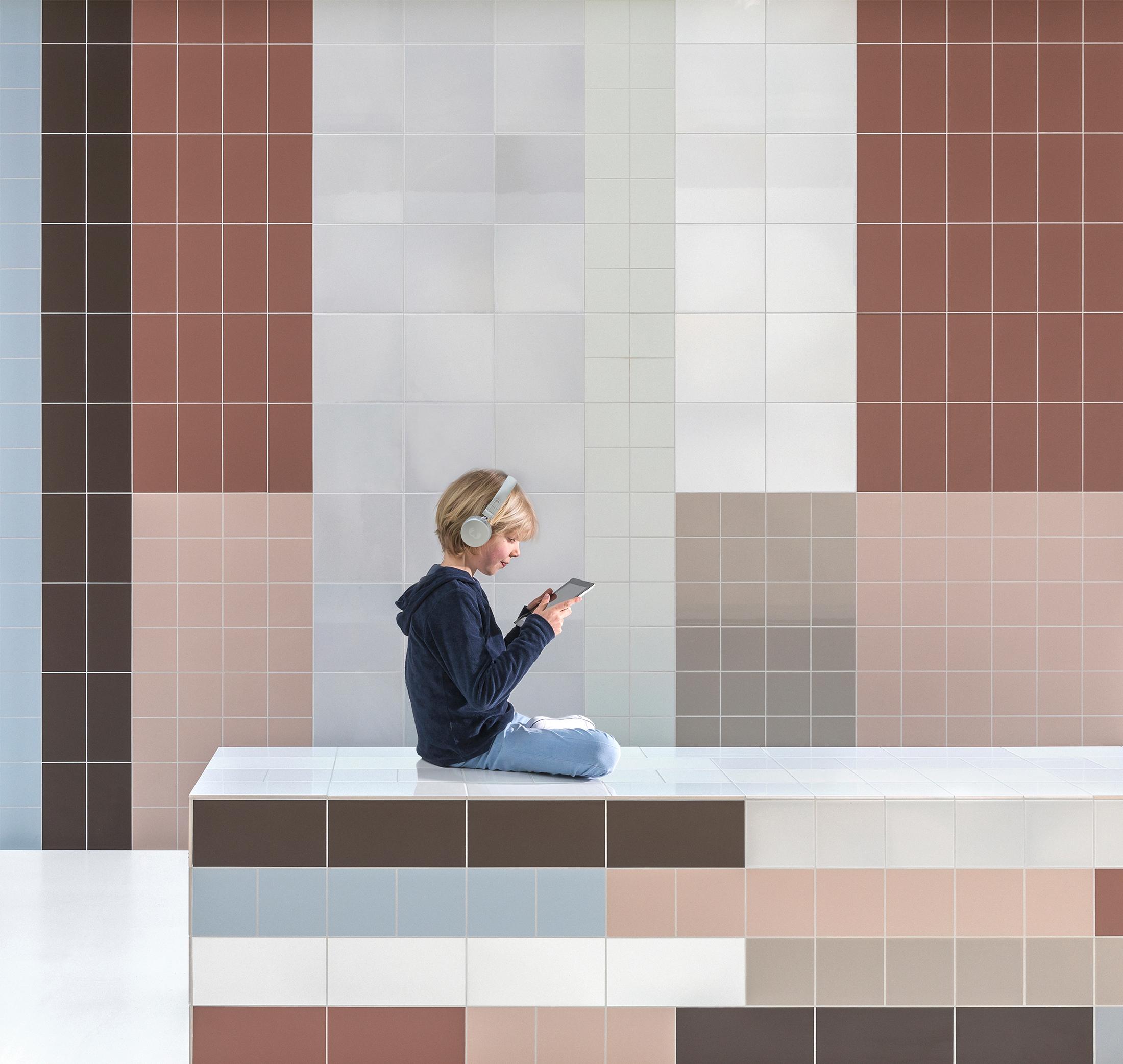Mosa Murals Fuse von Mosa. | STYLEPARK
