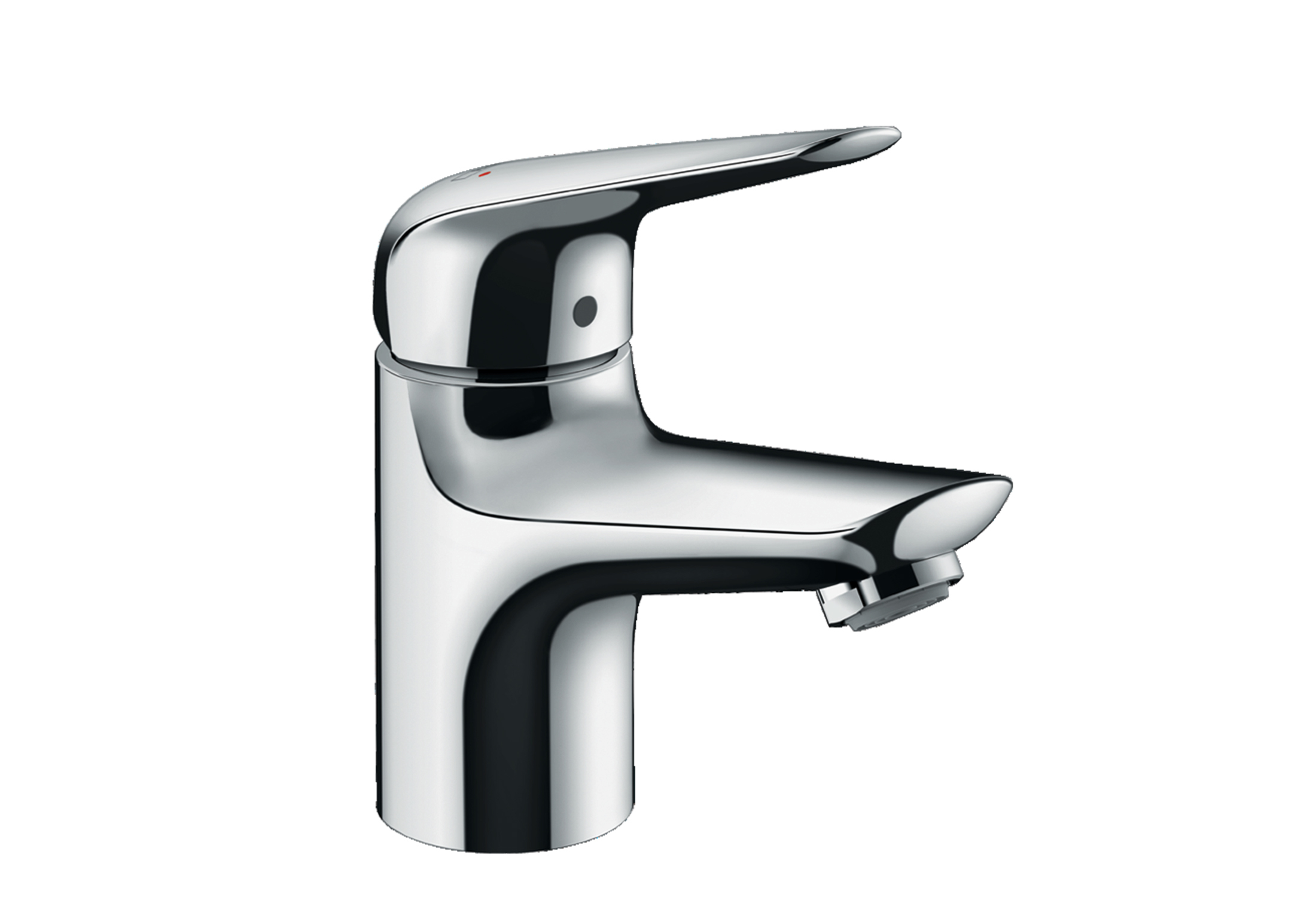 Novus Single Lever Basin Mixer 70 Without Waste Set By