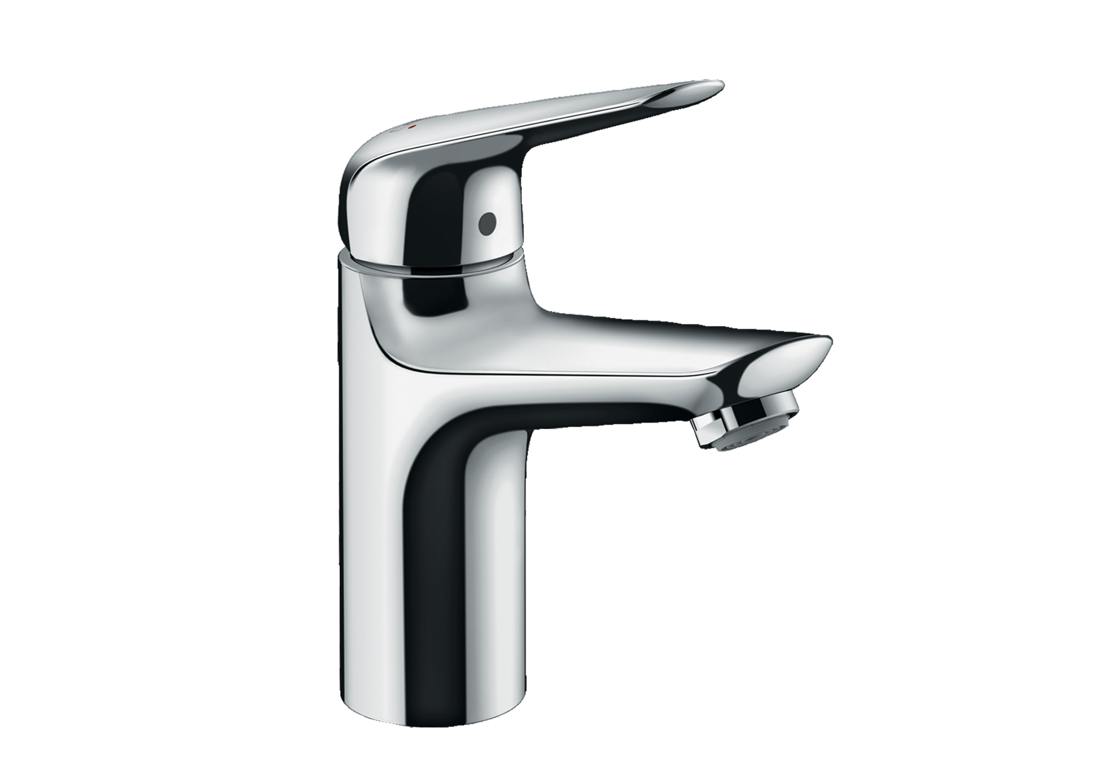 Novus Single lever basin mixer 100 for vented hot water cylinders ...