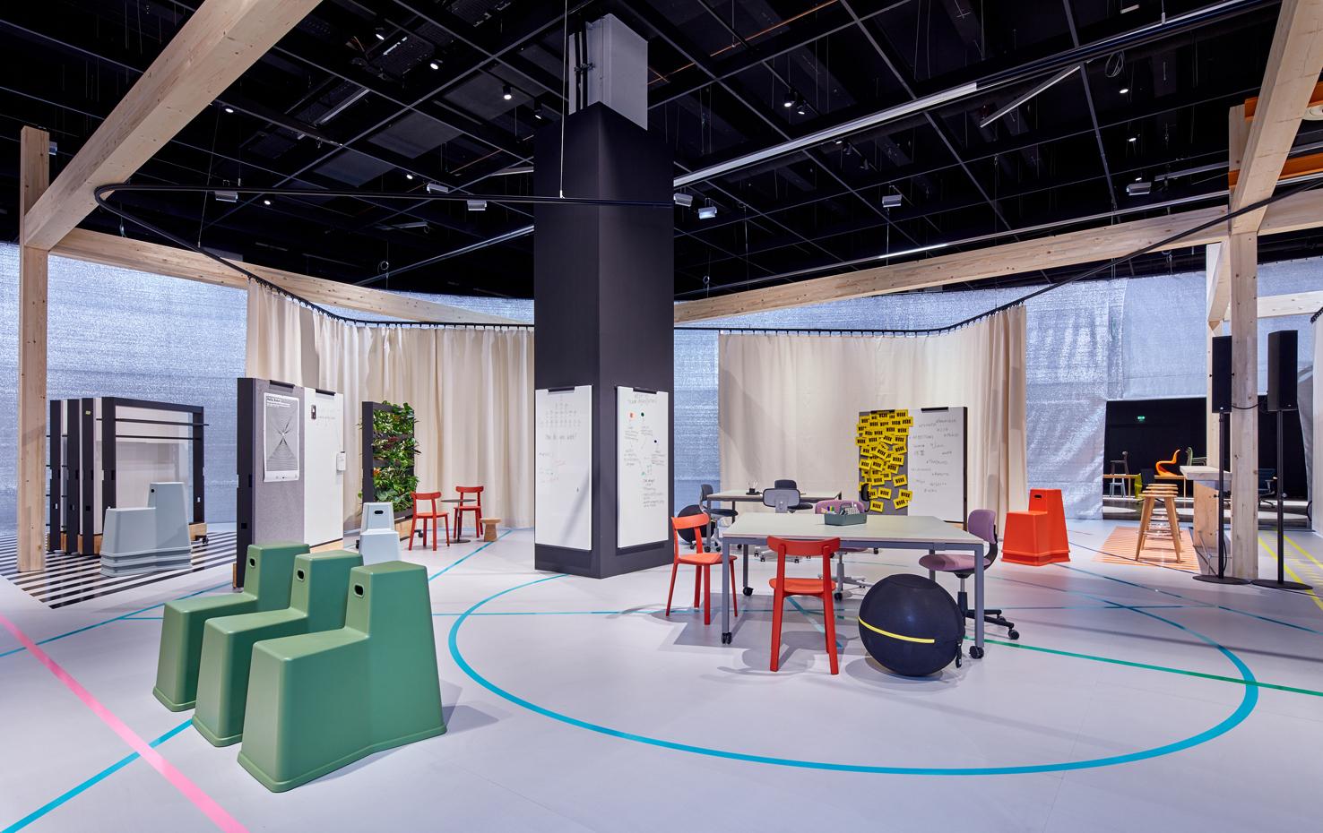 Orgatec 2018 Jonathan Olivares Mit Work Für Vitra Stylepark