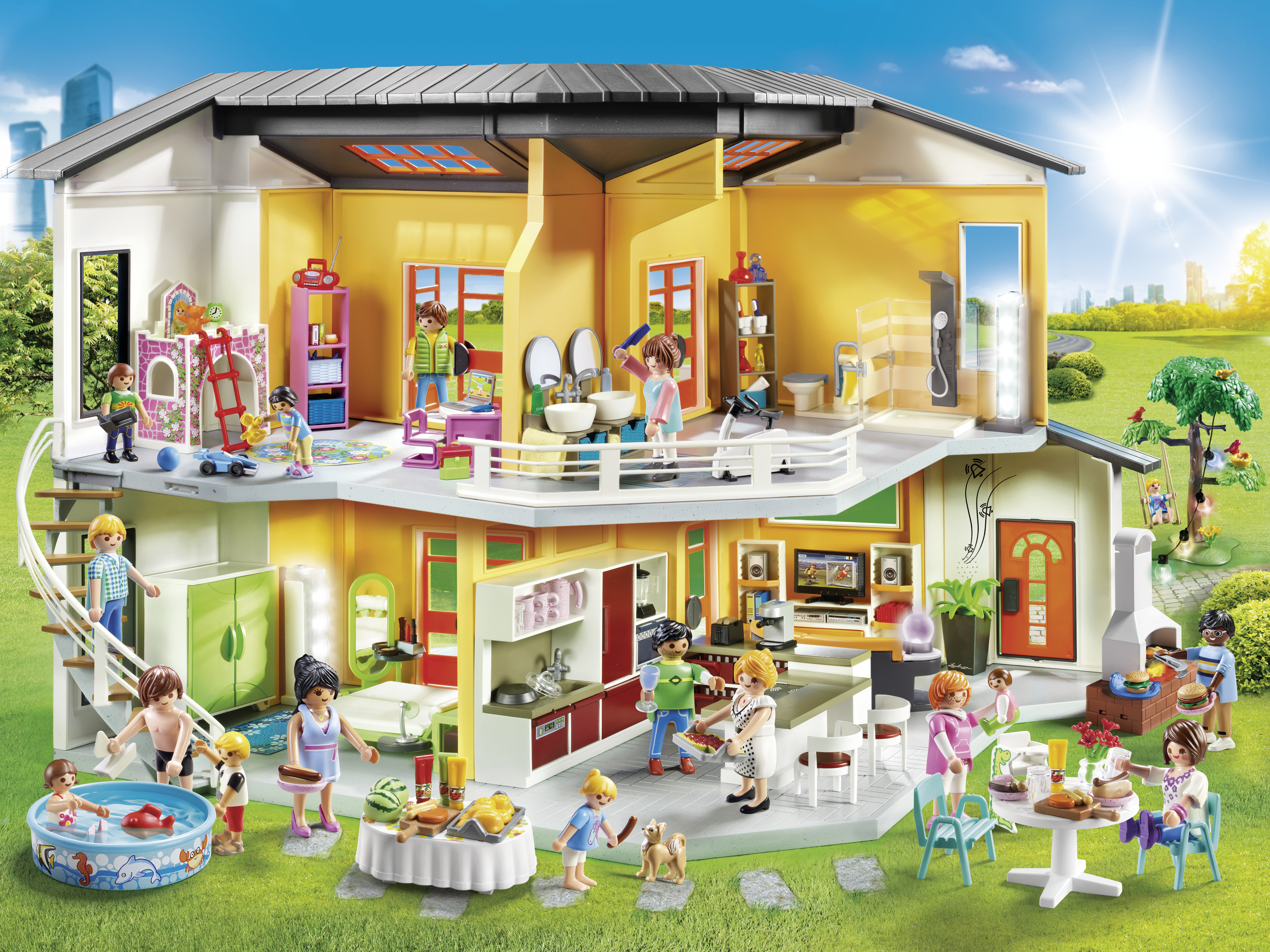 Come into the new world of toy design stylepark for Maison moderne playmobil 2018