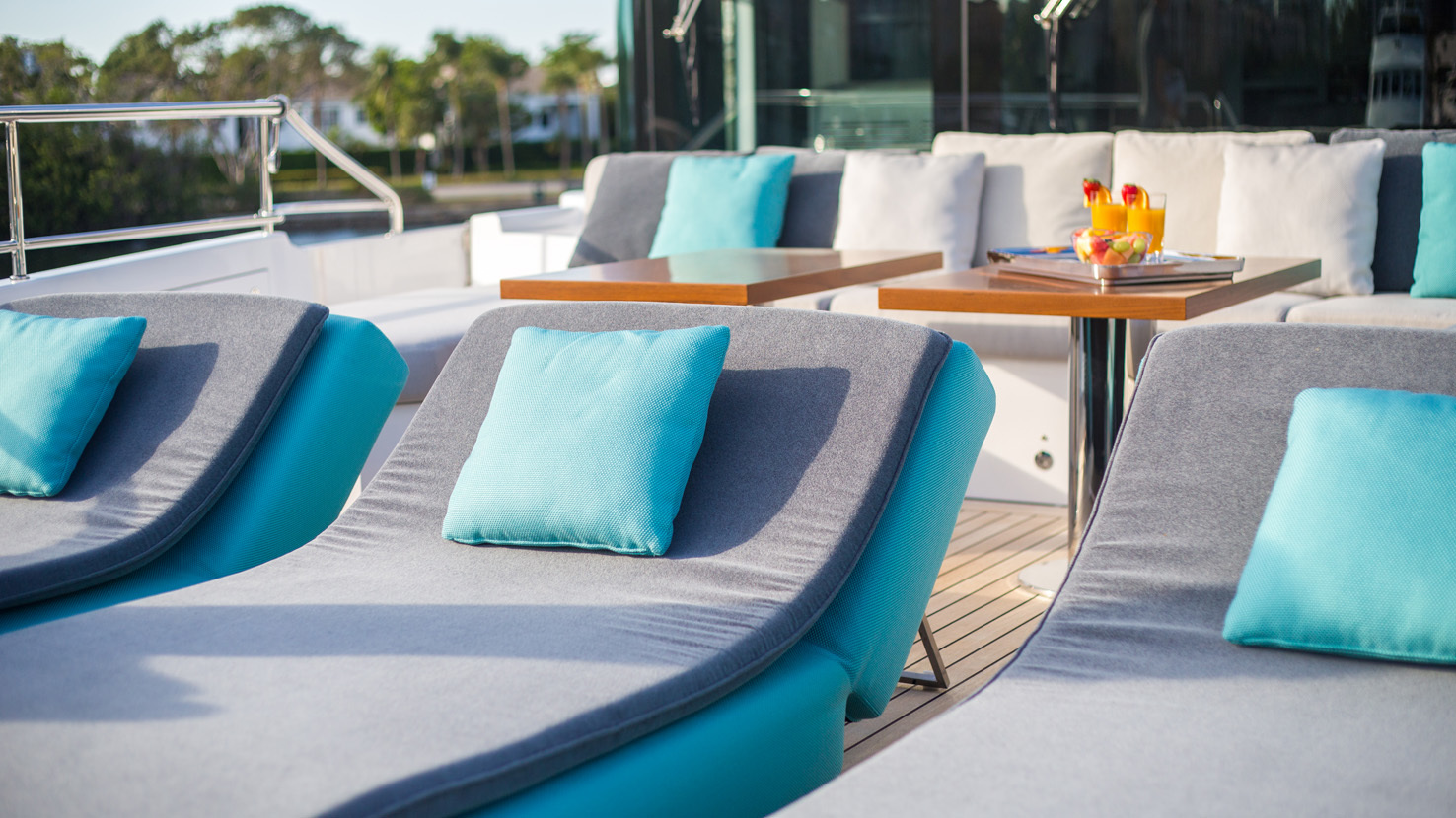 Outdoor and Indoor: Paola Lenti at the Monaco Yacht Show | STYLEPARK