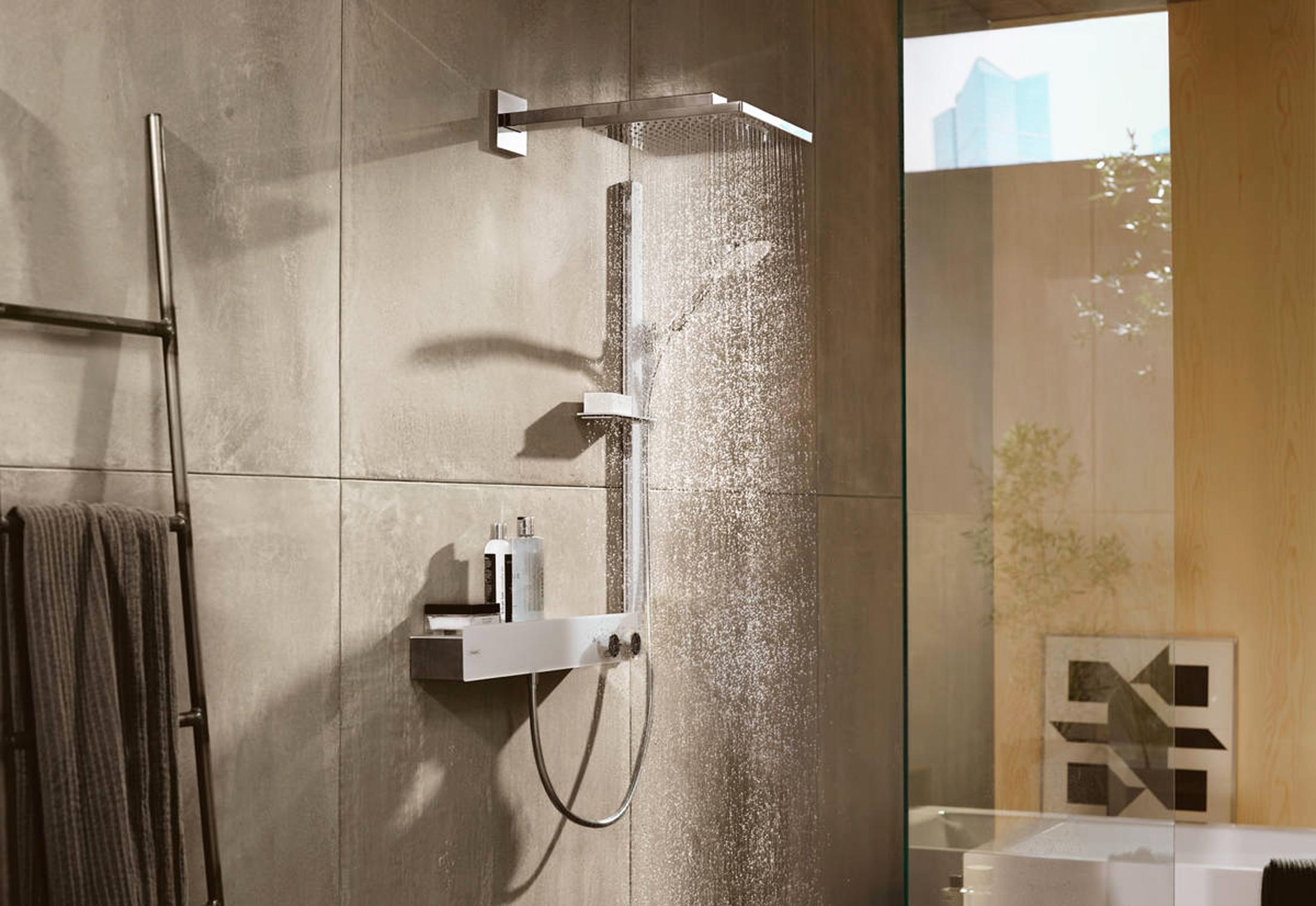 raindance select s brauseset 120 3jet mit brausestange 90 cm und seifenschale von hansgrohe. Black Bedroom Furniture Sets. Home Design Ideas