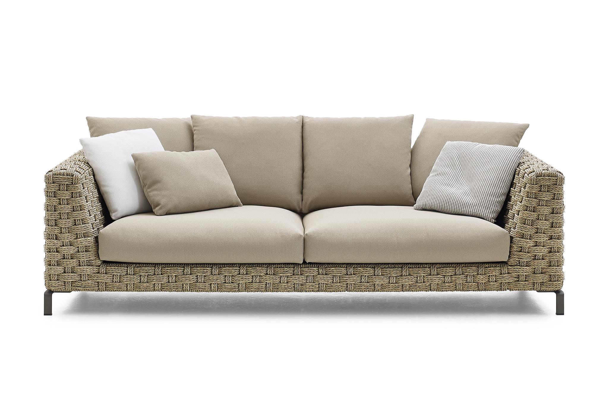 ray outdoor natural zweisitzer von b b italia stylepark. Black Bedroom Furniture Sets. Home Design Ideas