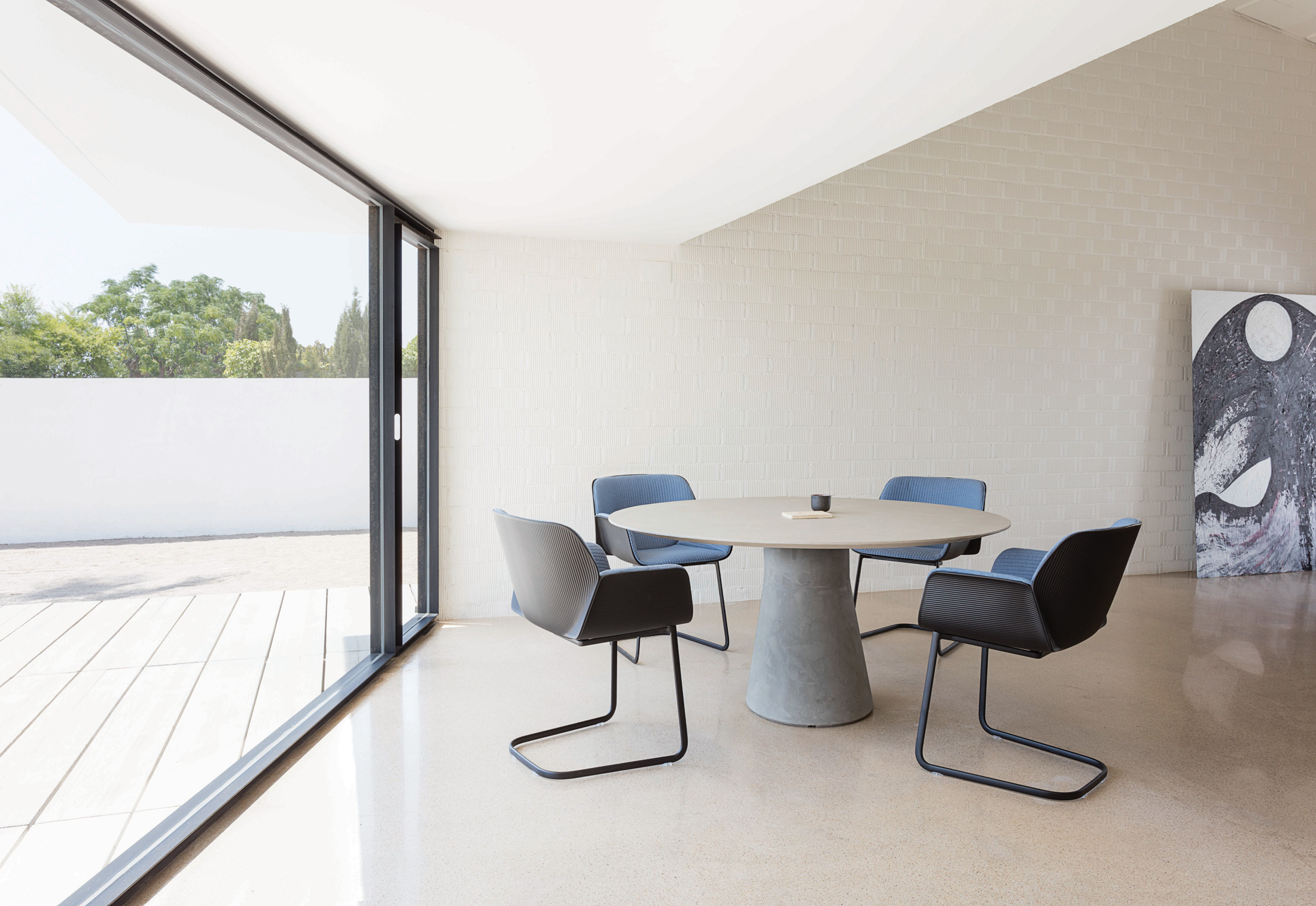 Reverse Conference Cement By Andreu World Stylepark