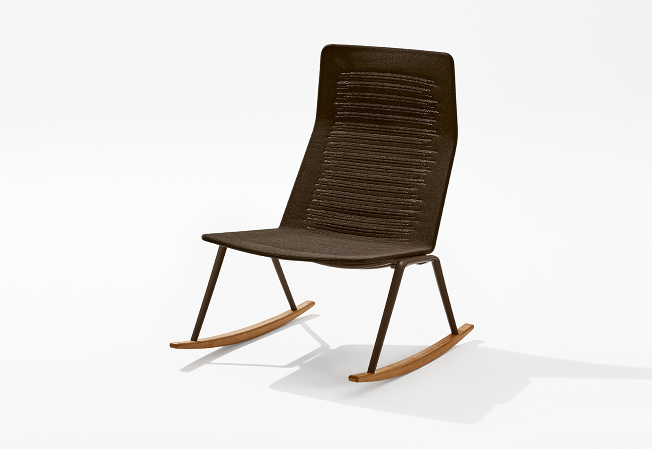 Zebra Knit Rocking Lounge Chair By Fast Stylepark