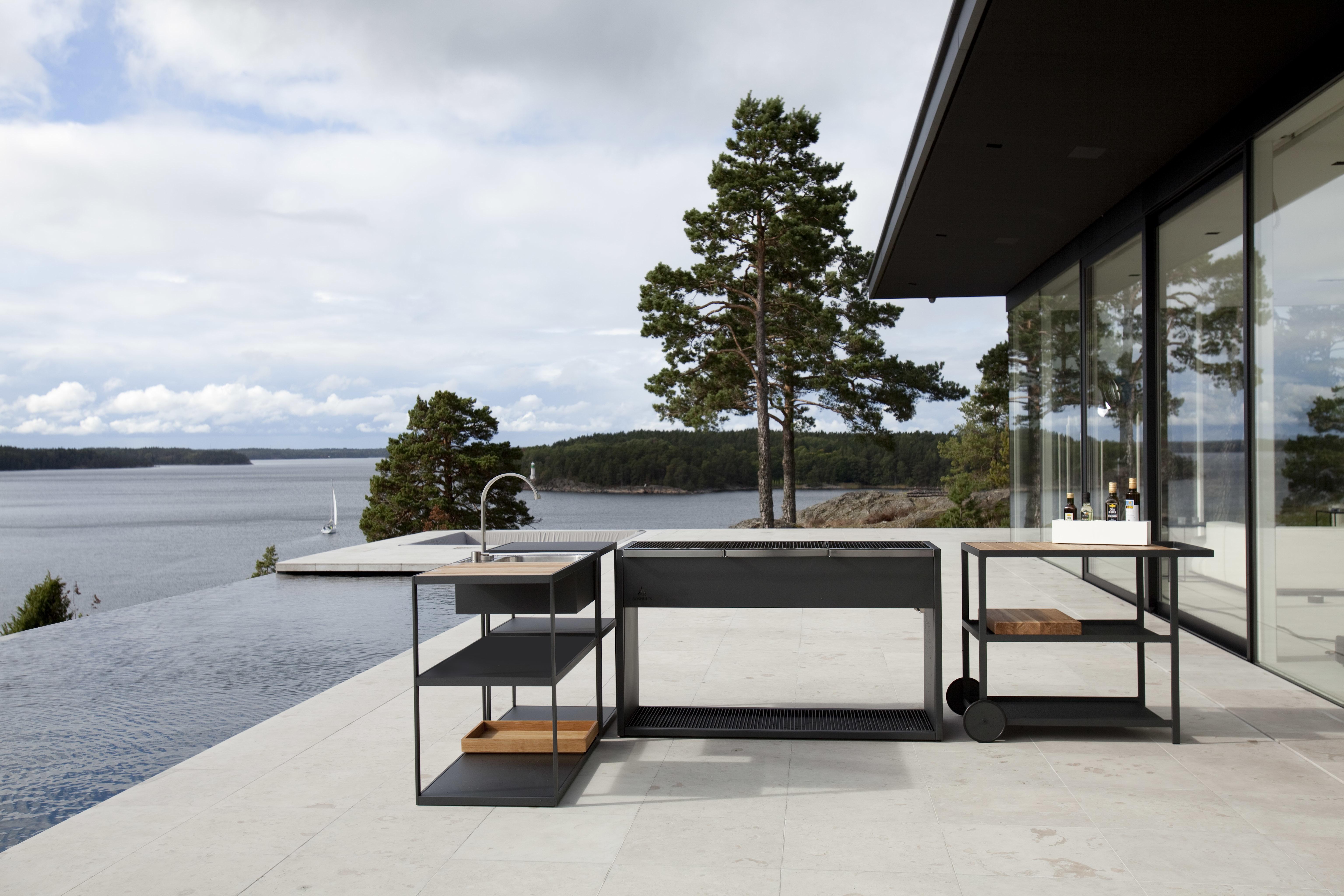 Kochfeld Für Außenküche : Wer kann der kocht im sommer draußen die besten außenküchen
