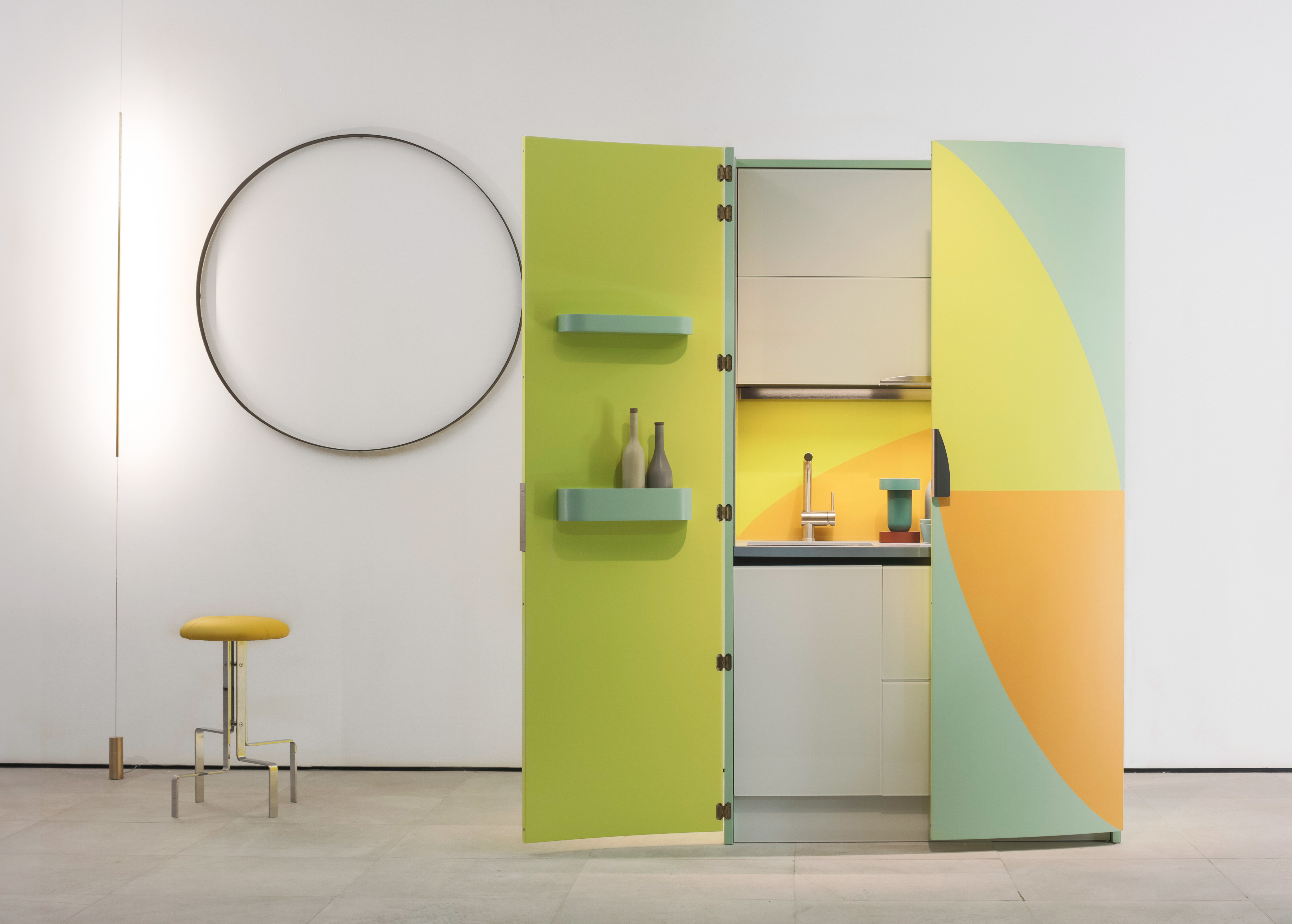 EuroCucina: The time of being on the edge and on the wall is over ...