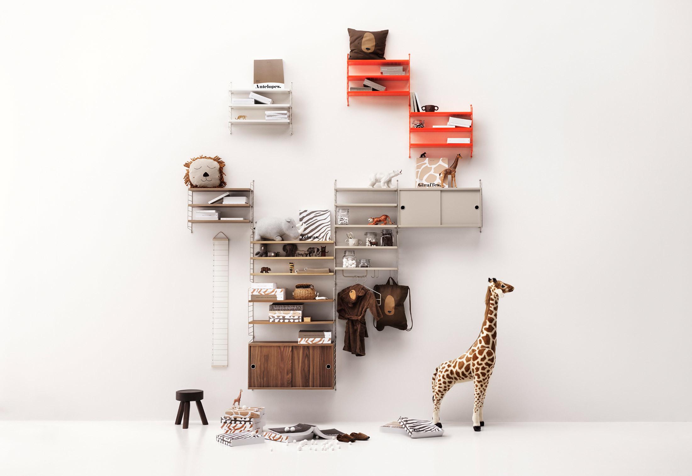 Craft Shelf Tableware Kitchen Animals Decoration Living Creative Metal Home BL