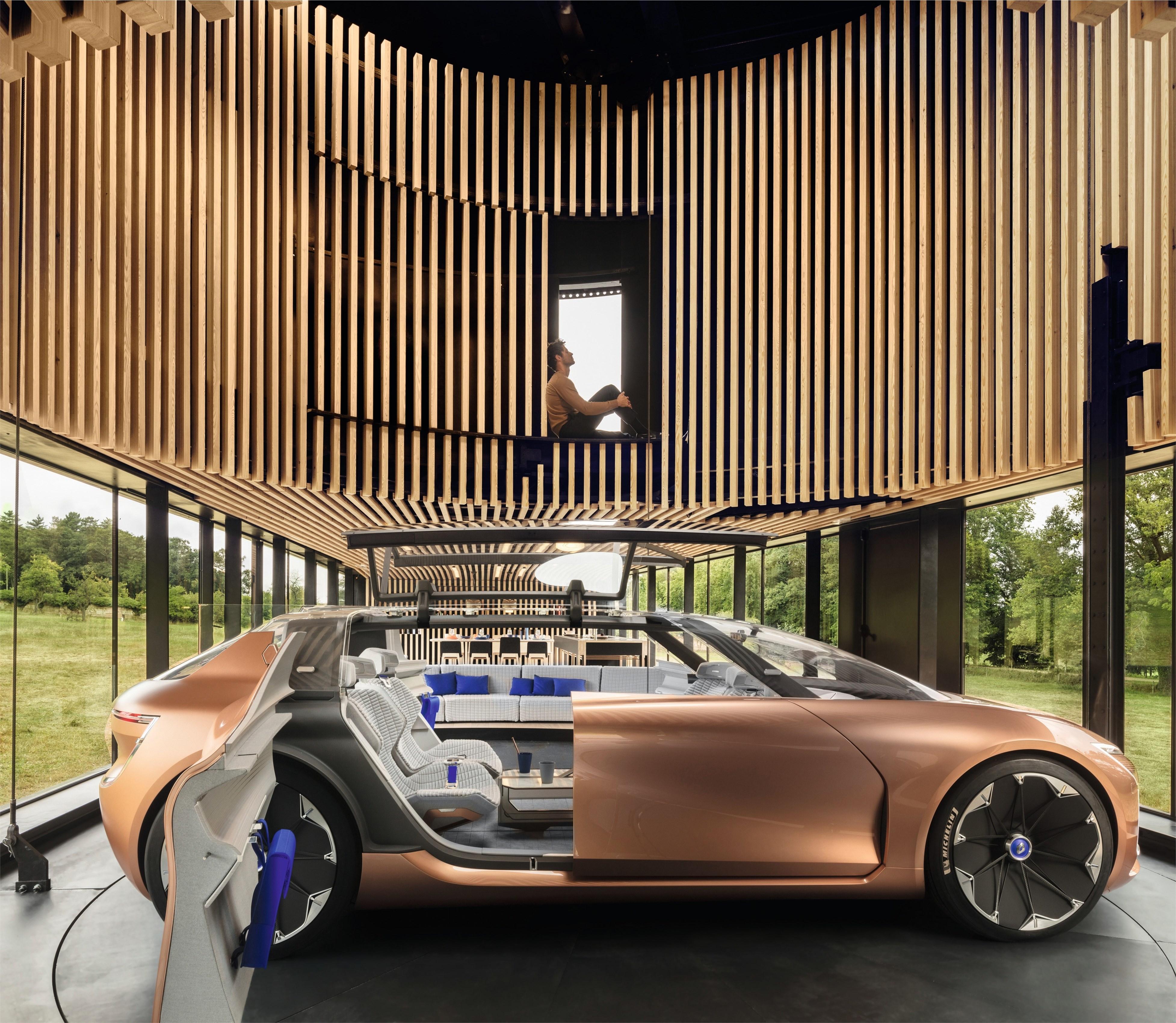 The Renault Concept car \
