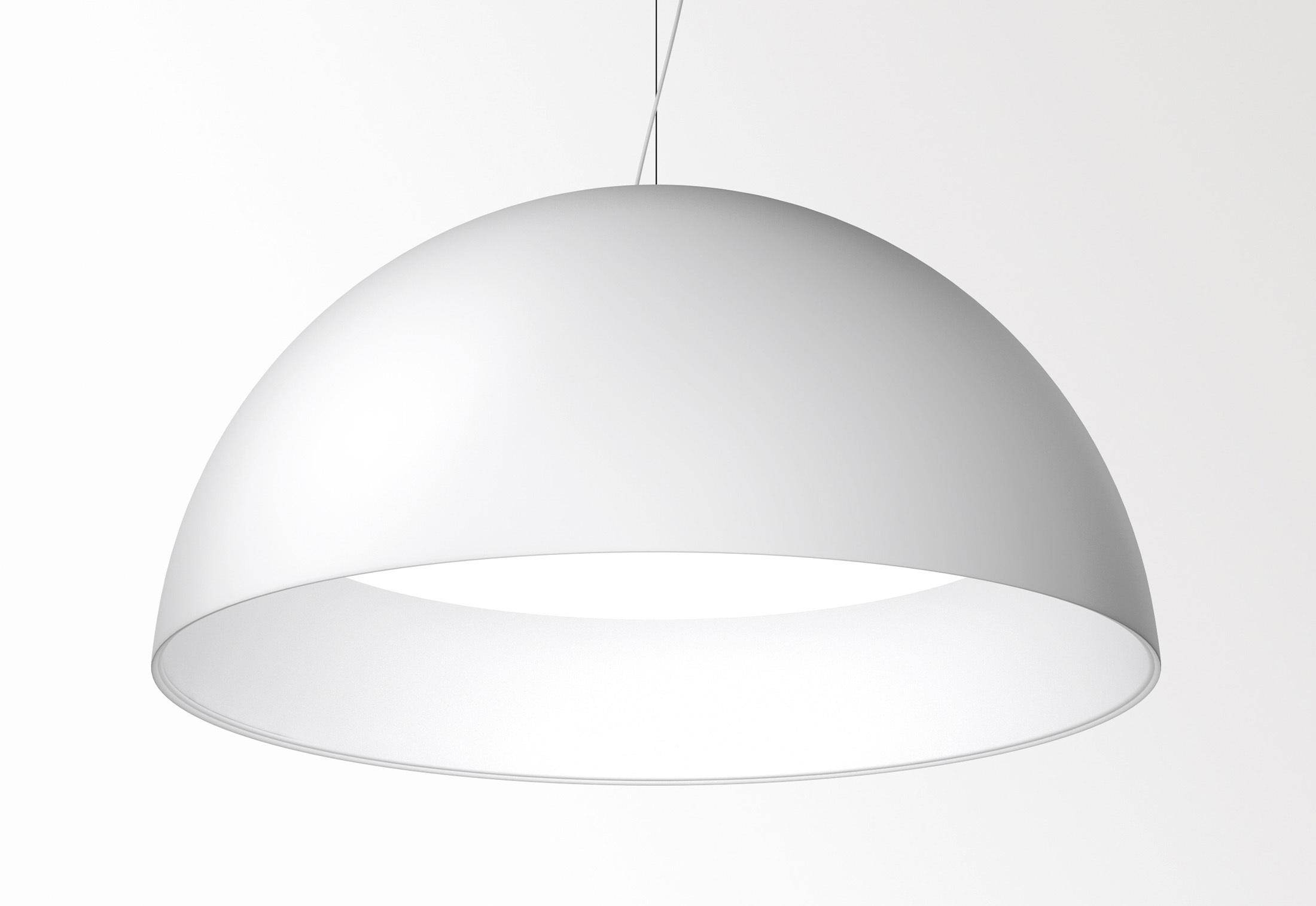 Superdome suspended luminaire by delta light stylepark for Suspente luminaire