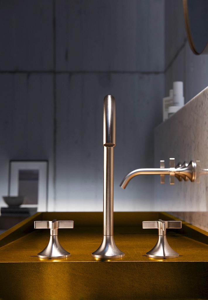 vaia finish platinum matt by dornbracht stylepark. Black Bedroom Furniture Sets. Home Design Ideas