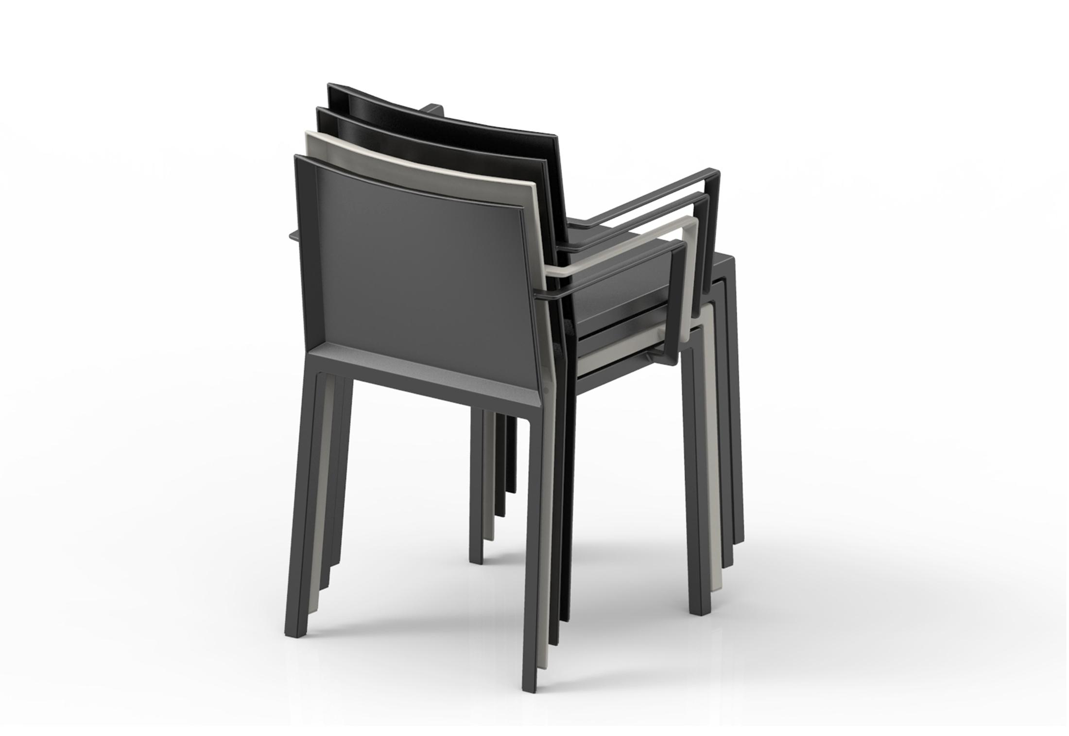 quartz stuhl mit armlehnen von vondom stylepark. Black Bedroom Furniture Sets. Home Design Ideas